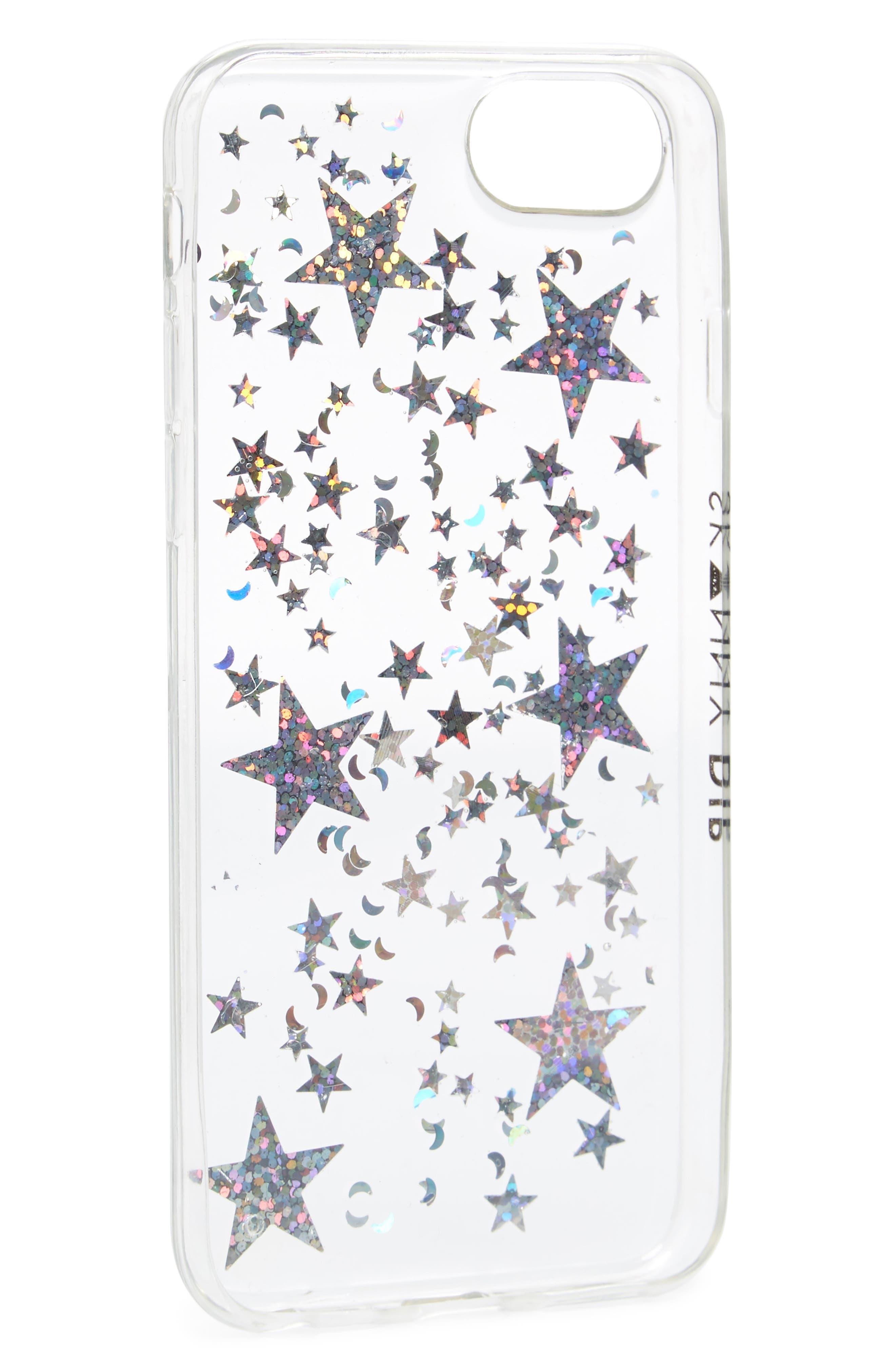 Skinny Dip Starship iPhone 6/6s/7/8 Plus Case,                             Alternate thumbnail 2, color,