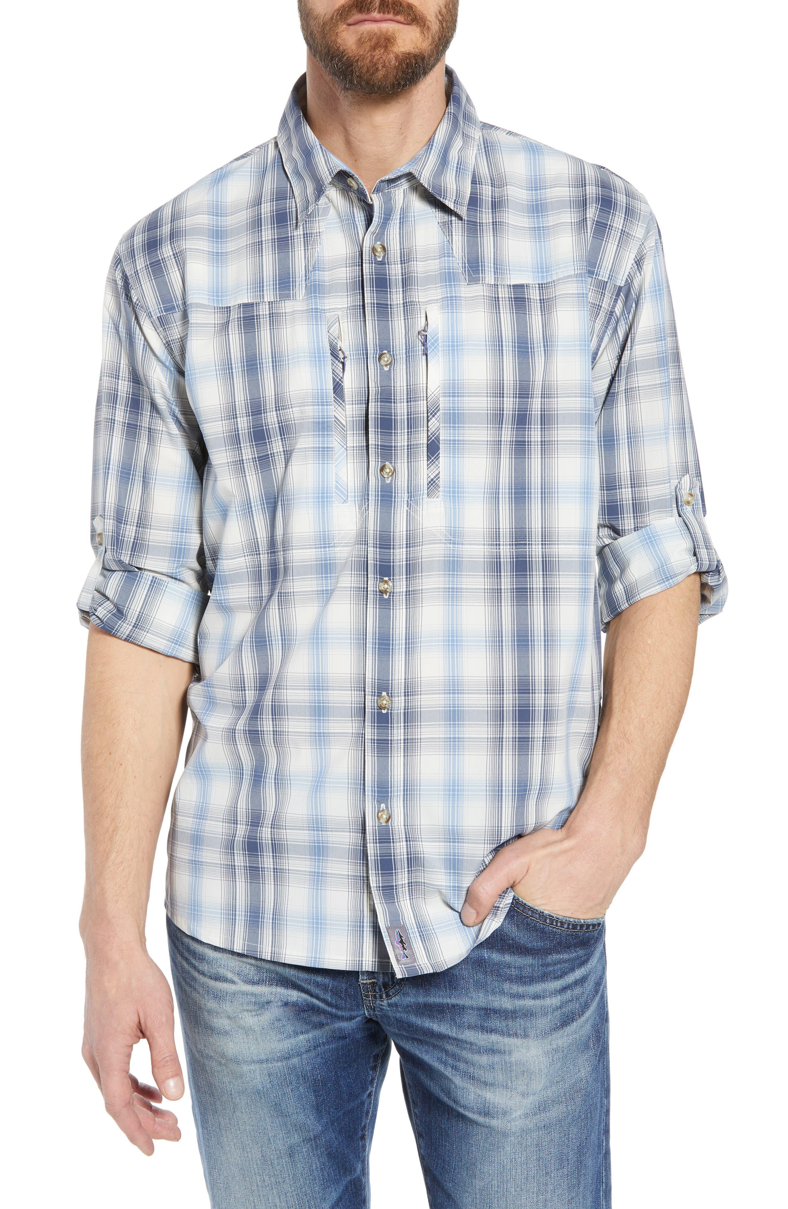 Regular Fit Plaid Sport Shirt,                             Main thumbnail 1, color,                             405