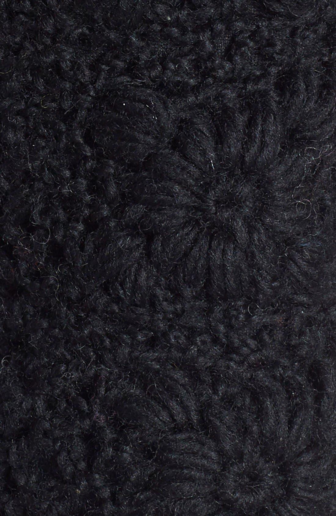 NIRVANNA DESIGNS,                             Crochet Handwarmers,                             Alternate thumbnail 2, color,                             001