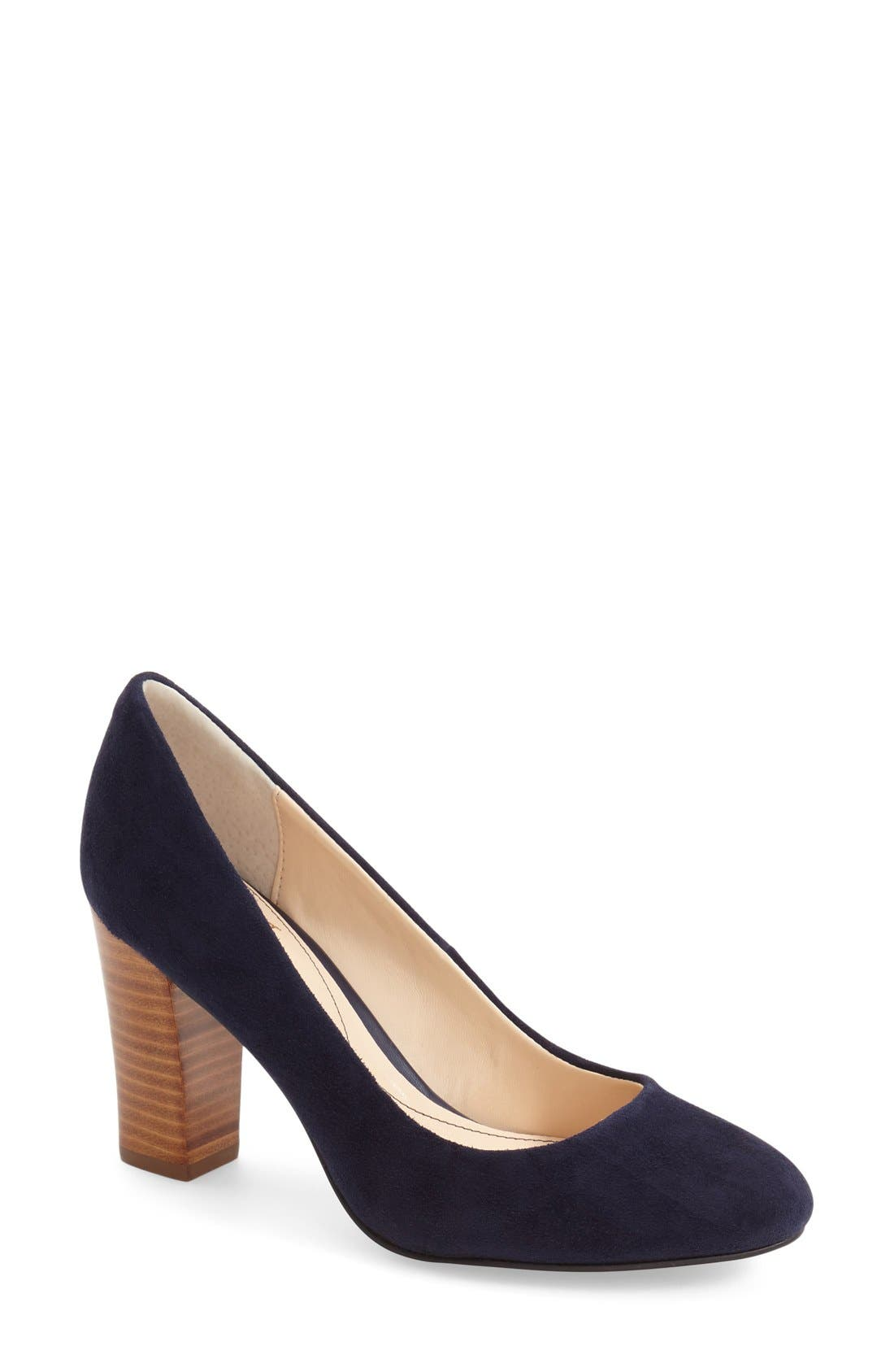 'Eleni II' Block Heel Pump,                             Main thumbnail 7, color,
