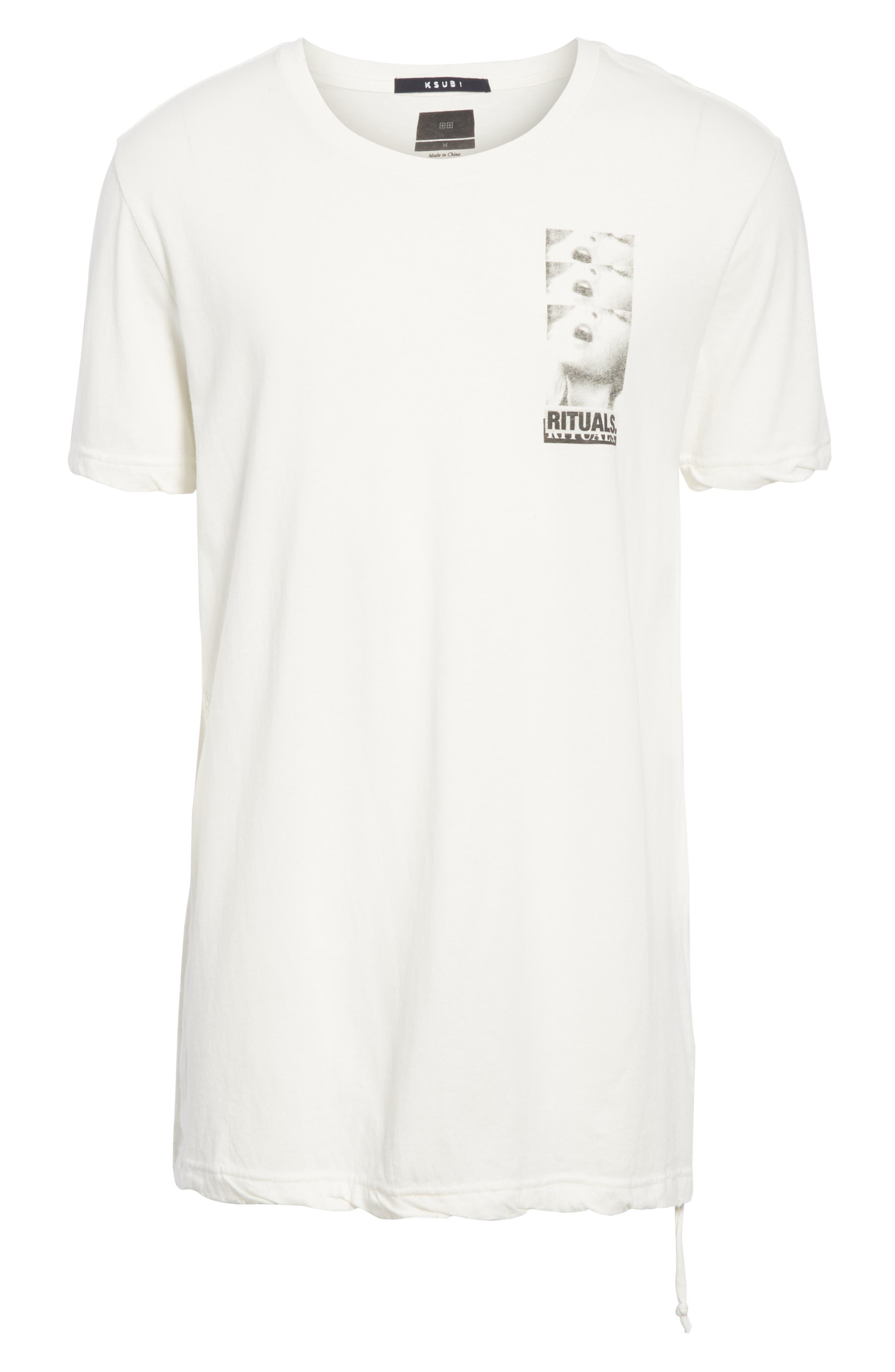 Rituals Graphic T-Shirt,                             Alternate thumbnail 6, color,                             WHITE