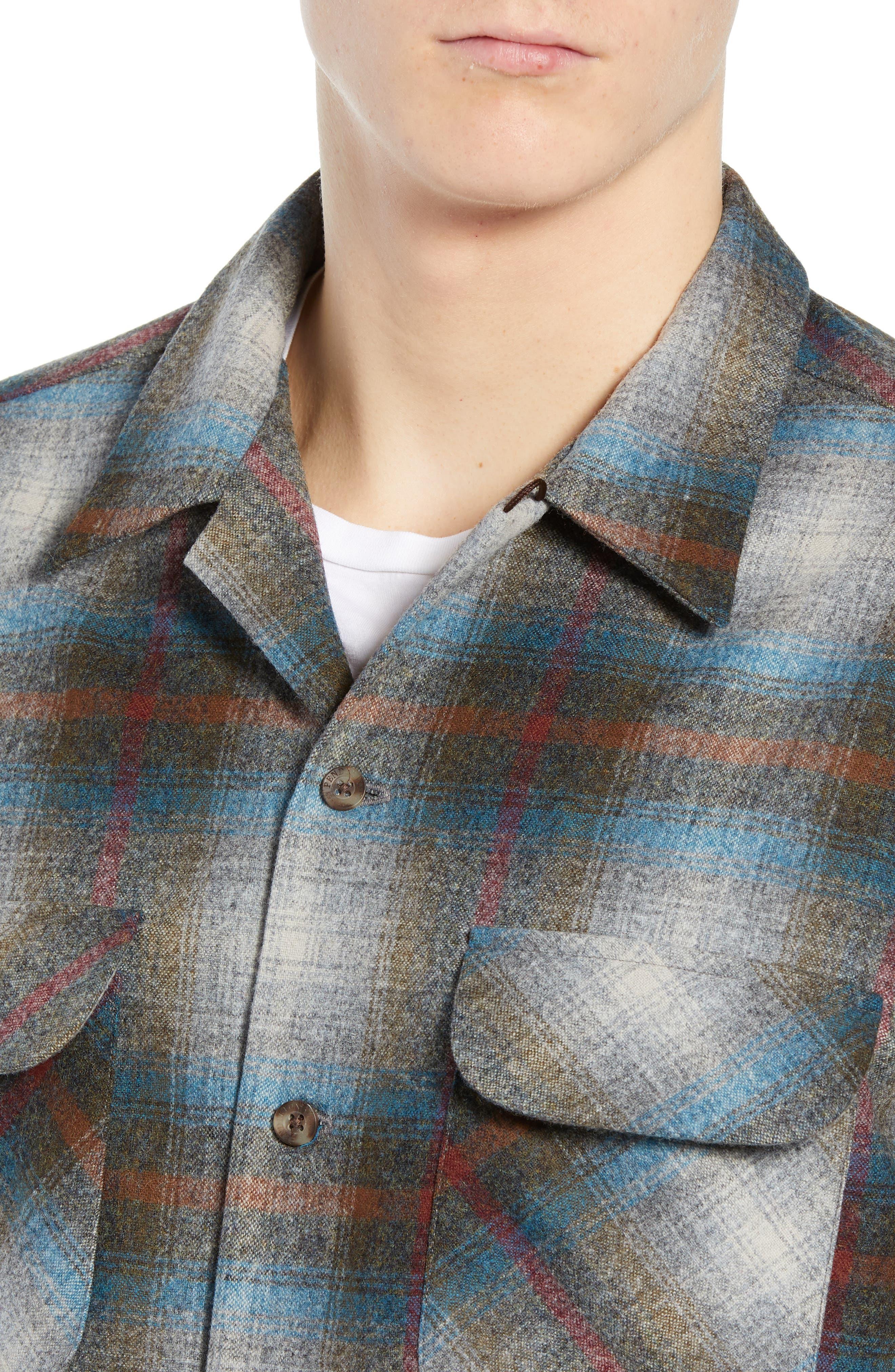 Board Wool Flannel Shirt,                             Alternate thumbnail 2, color,                             MULTI PLAID