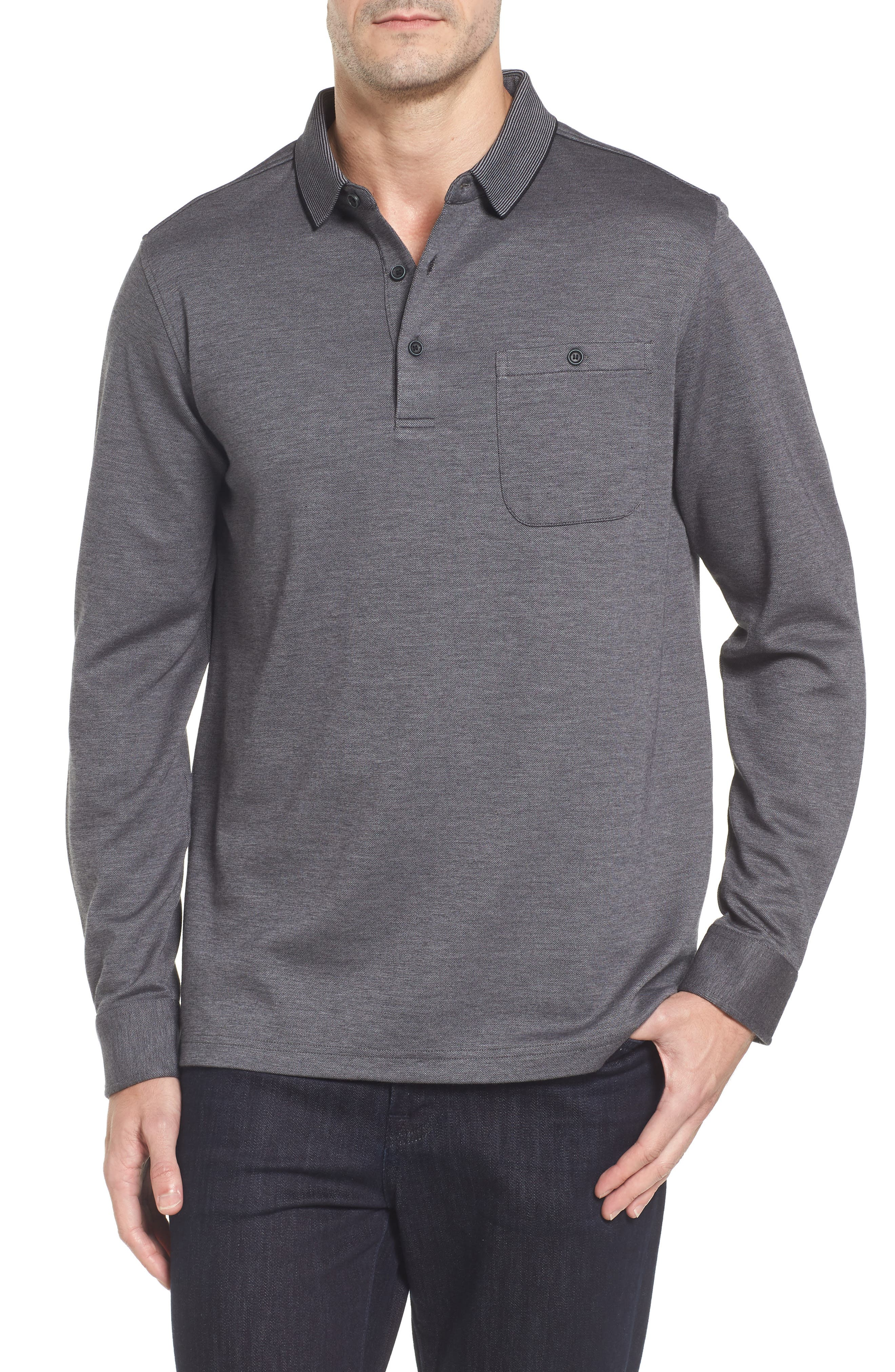 Classic Fit Piqué Polo,                         Main,                         color, 020