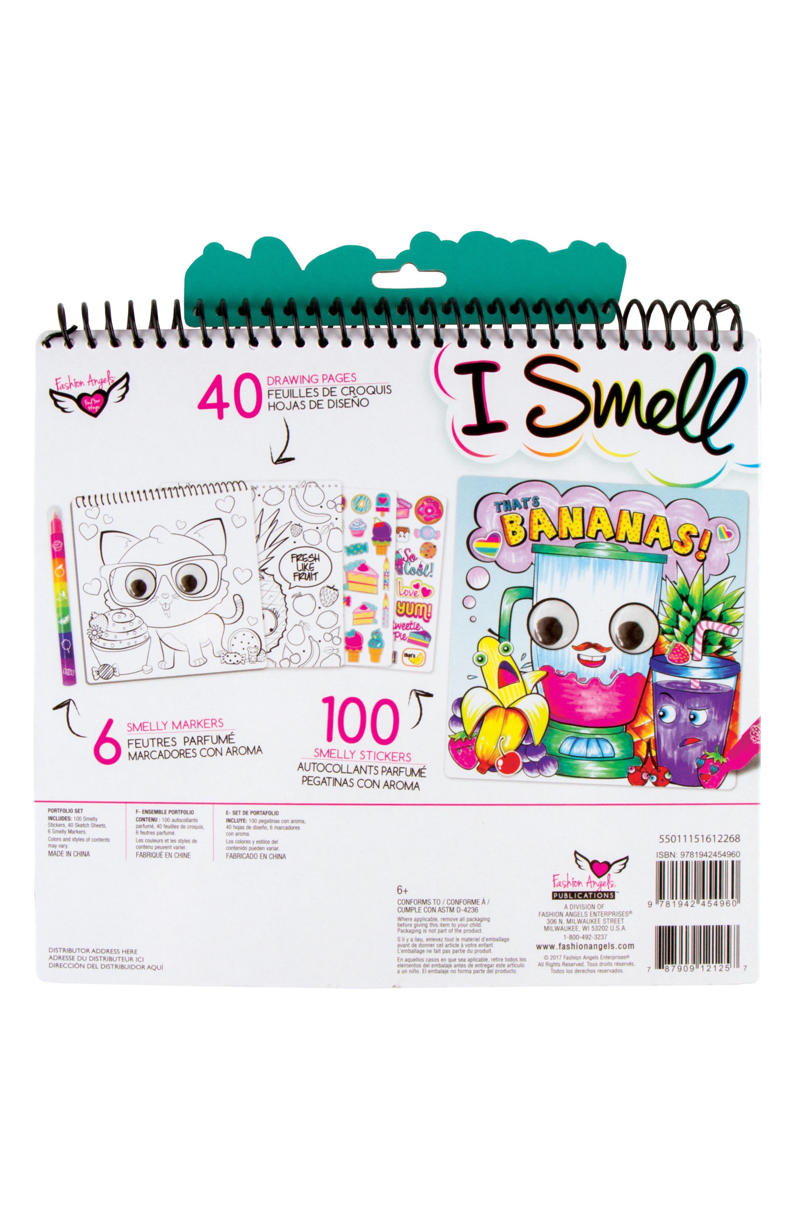 I Smell Sketch Portfolio,                             Alternate thumbnail 2, color,                             500