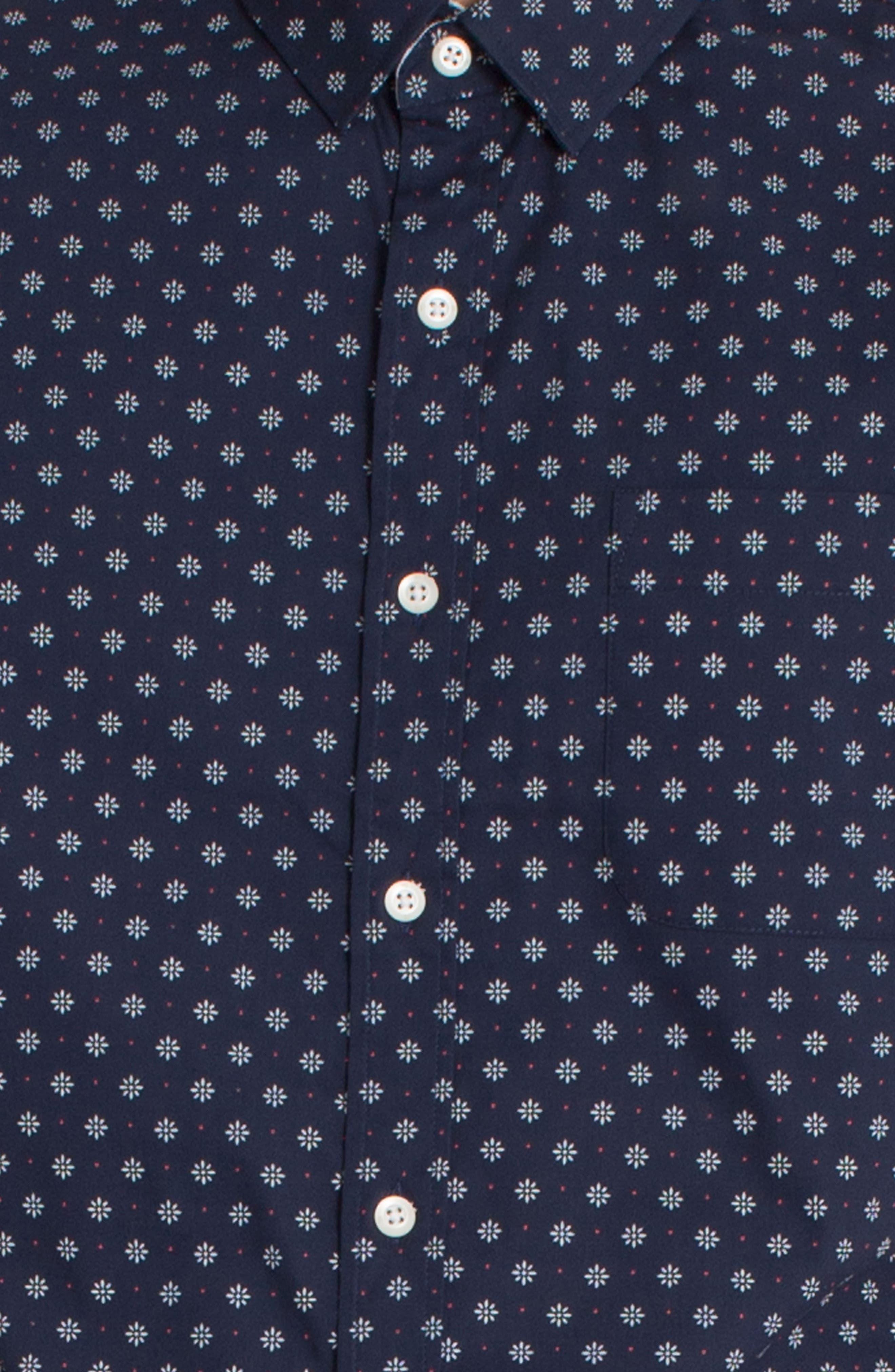 Overflow Woven Shirt,                             Alternate thumbnail 8, color,