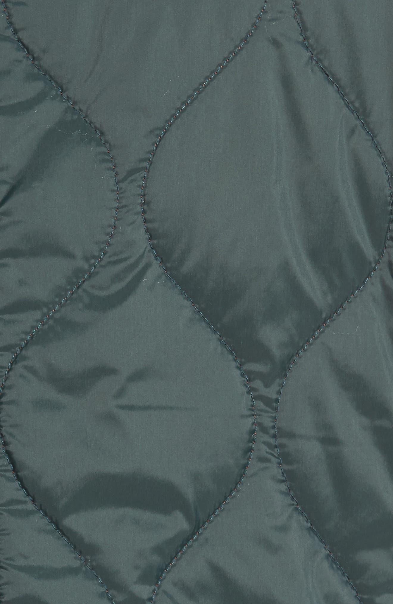 Nylon Quilted Vest,                             Alternate thumbnail 5, color,                             302