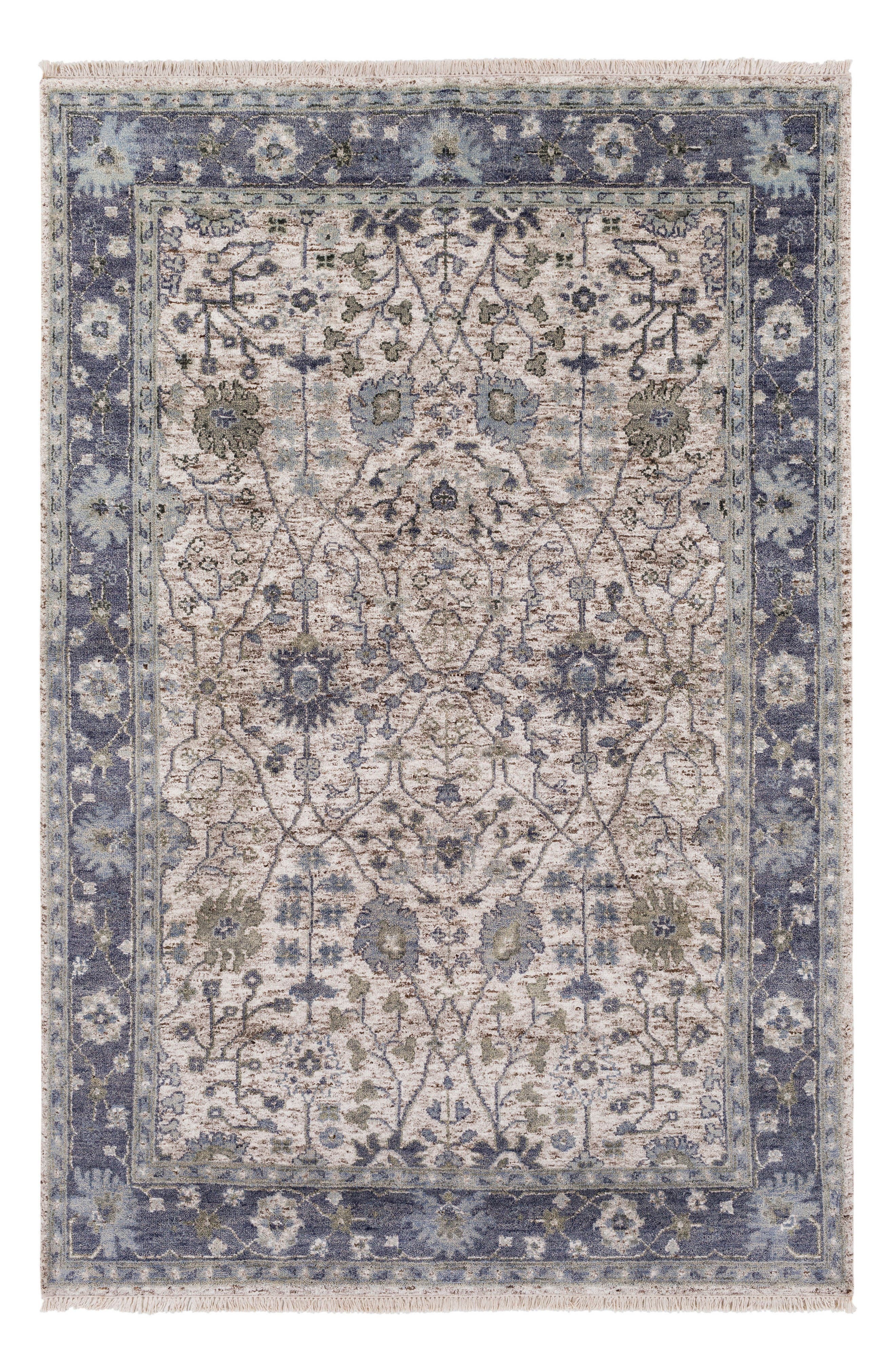 Maeva Classic Hand Knotted Rug,                             Main thumbnail 1, color,                             400