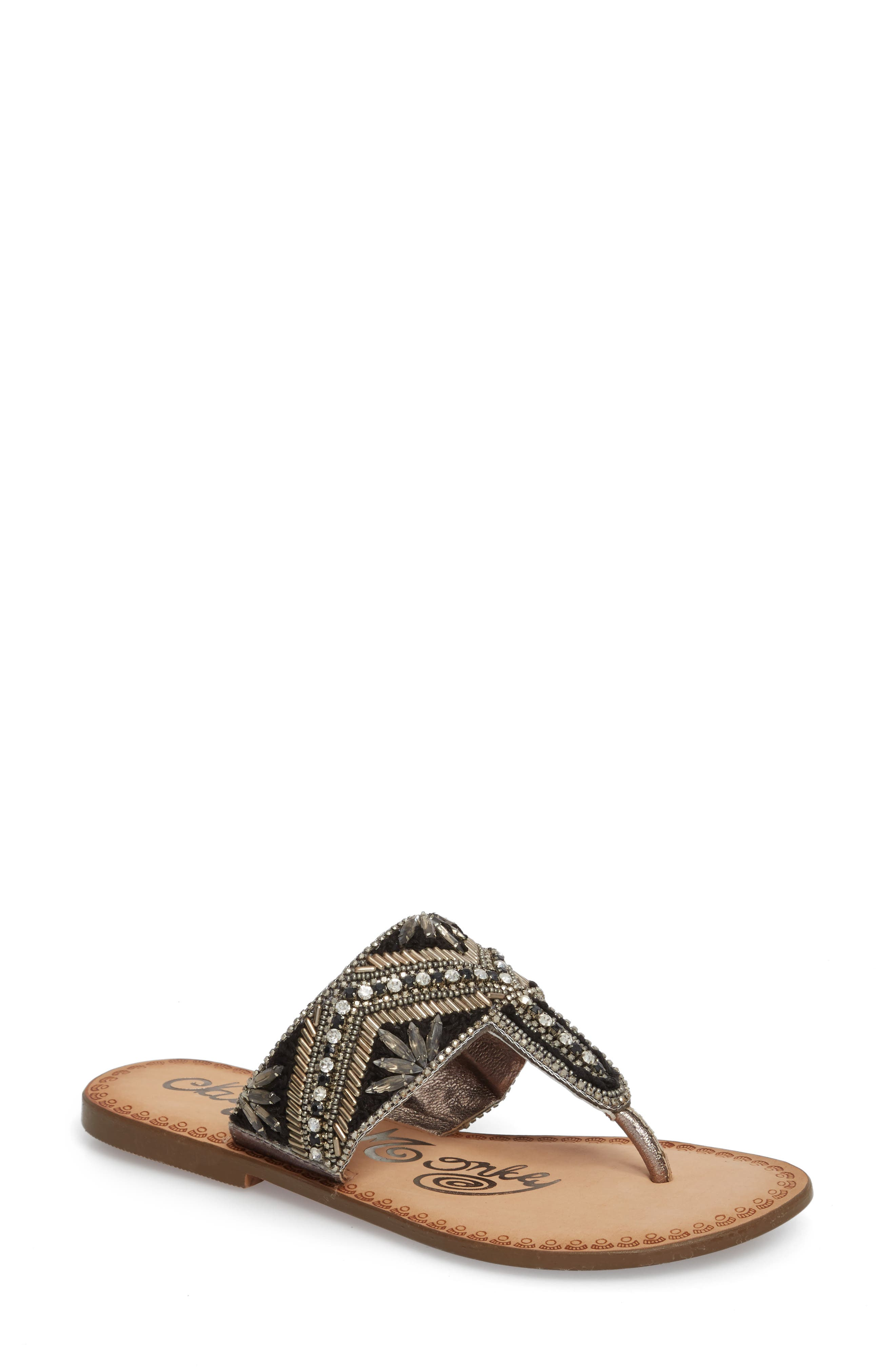 Beaded Sandal,                         Main,                         color,