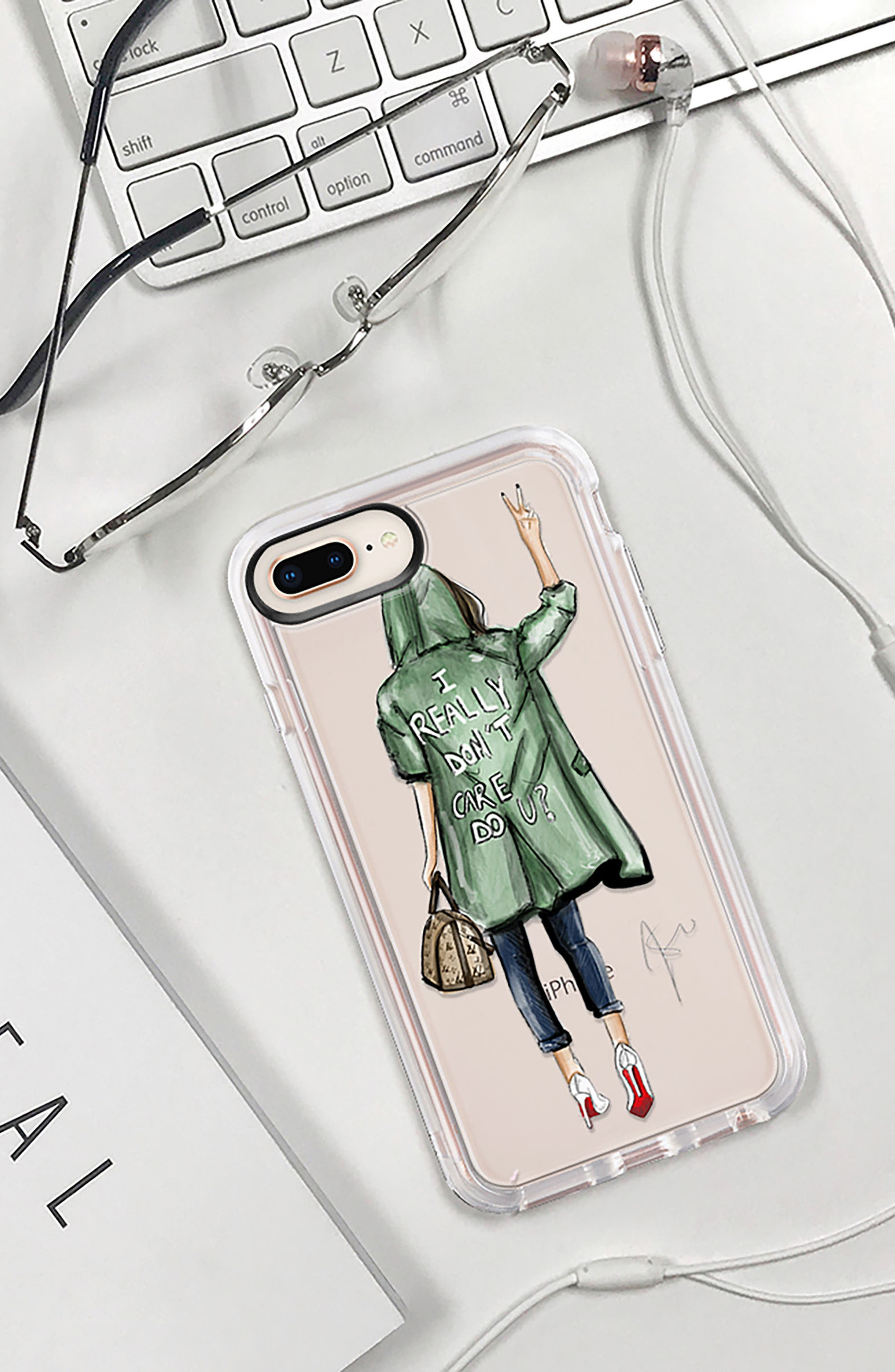 I Really Don't Care iPhone 7/8 & 7/8 Plus Case,                             Alternate thumbnail 9, color,                             300