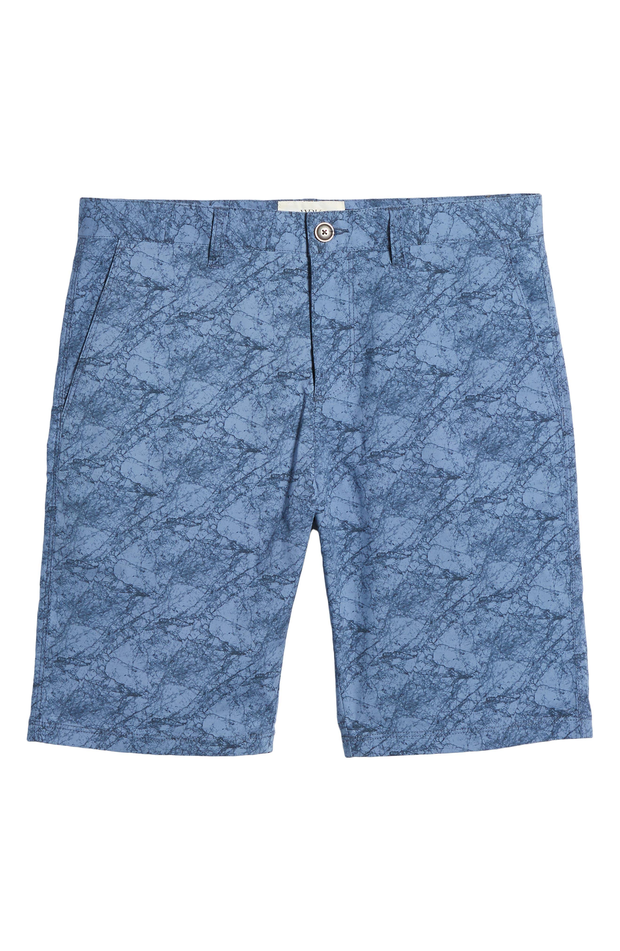 Tristen Stretch Cotton Shorts,                             Alternate thumbnail 6, color,