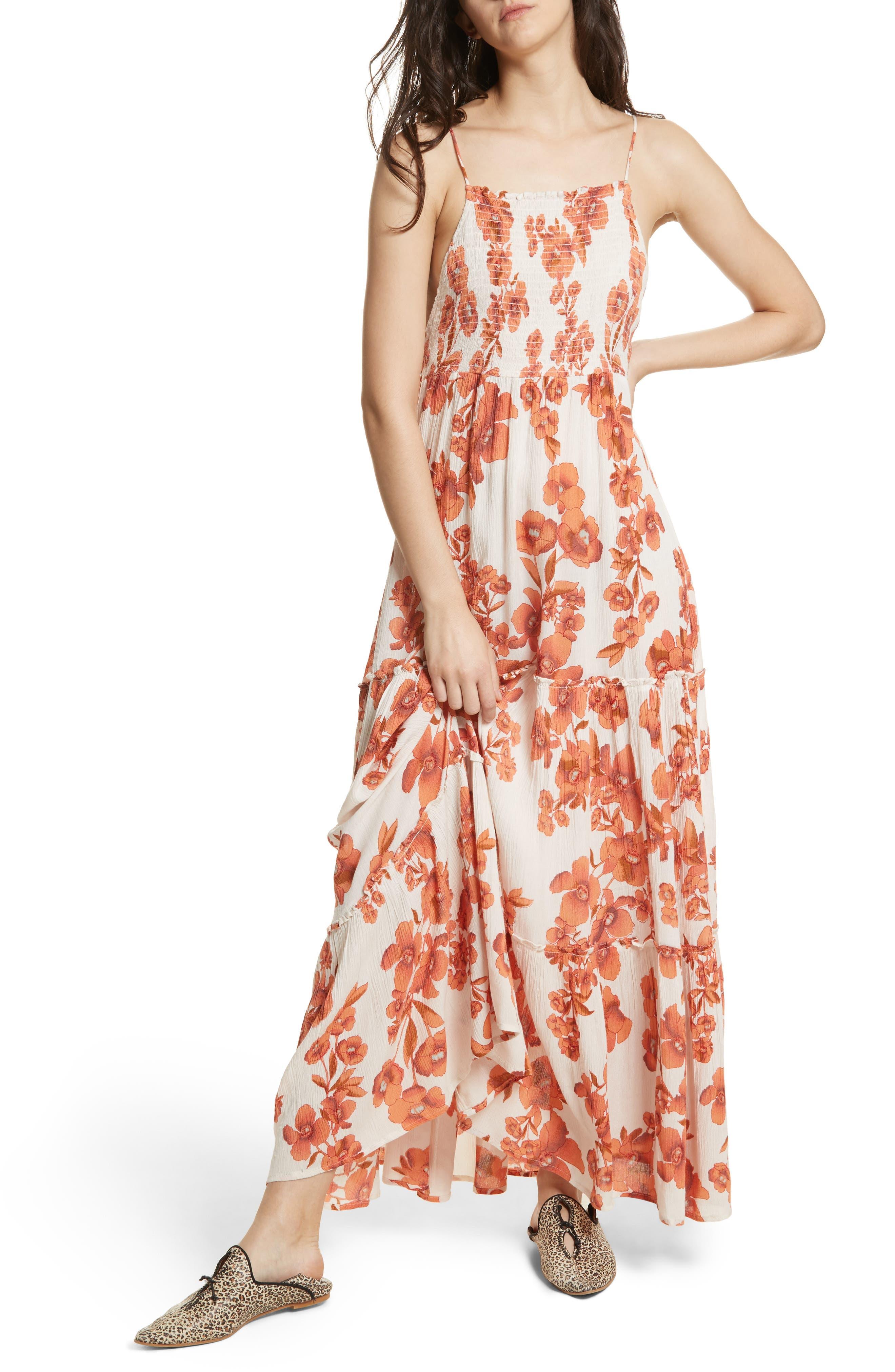 Garden Party Maxi Dress,                             Main thumbnail 4, color,