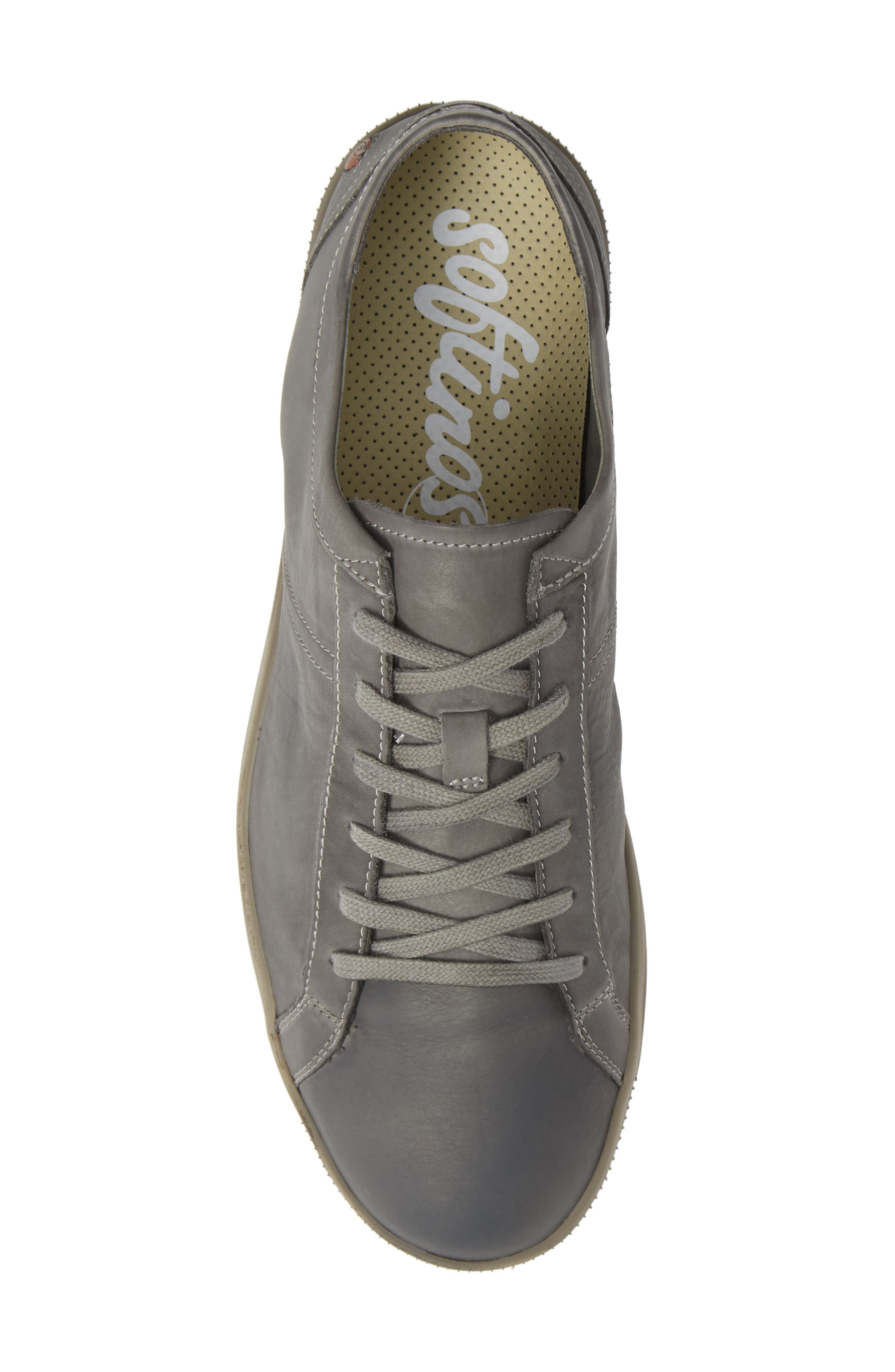 Tom Sneaker,                             Alternate thumbnail 5, color,                             MILITARY WASHED LEATHER