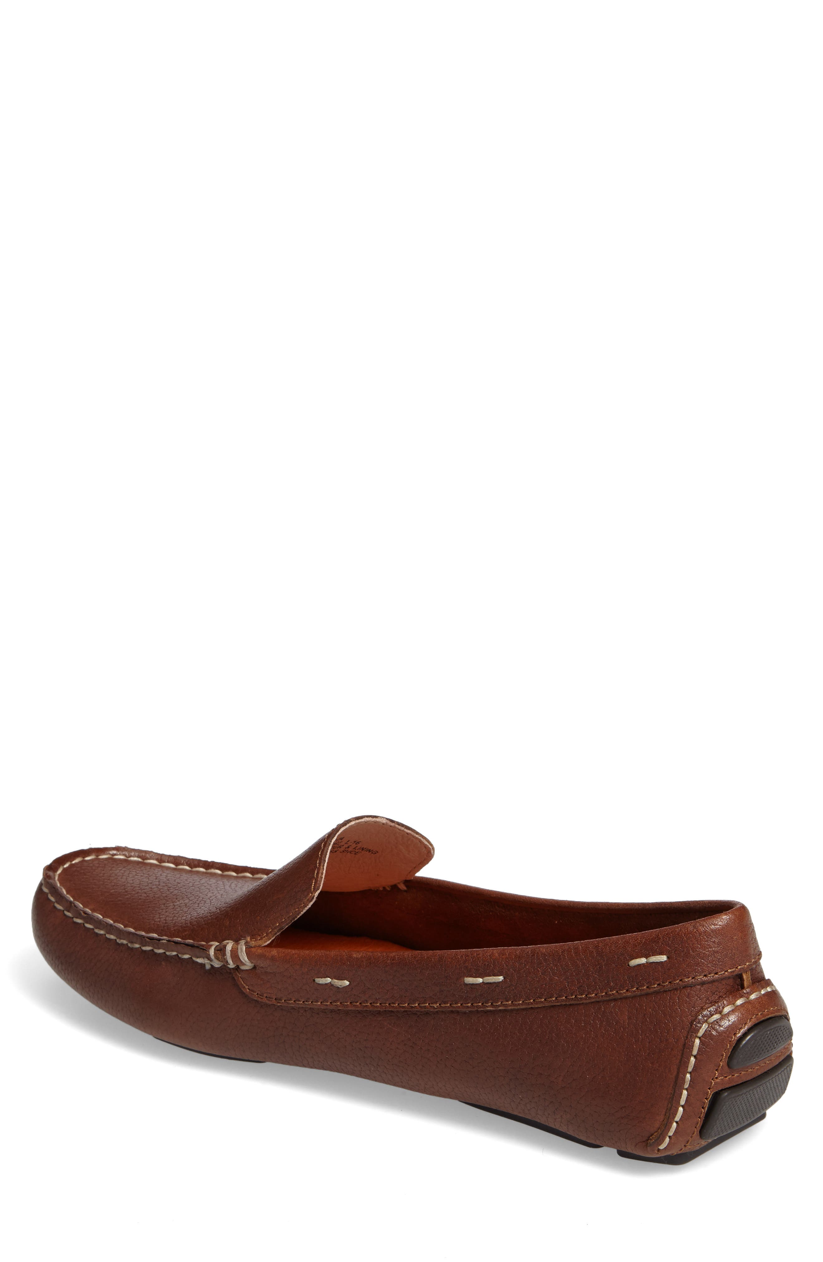 Pagota Driving Loafer,                             Alternate thumbnail 2, color,                             DARK BROWN LEATHER
