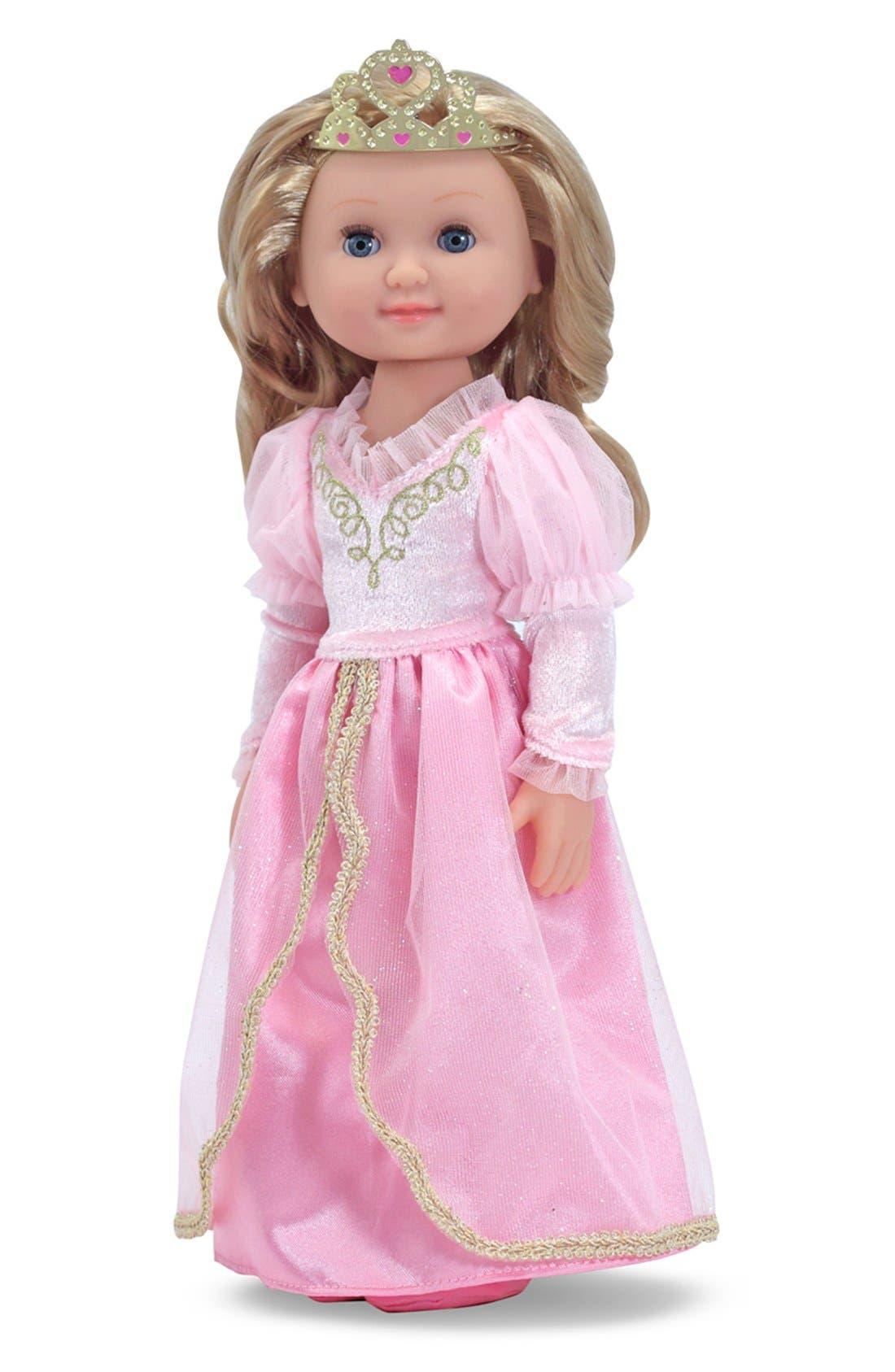 'Mine to Love - Celeste' Princess Doll,                             Main thumbnail 1, color,                             PINK