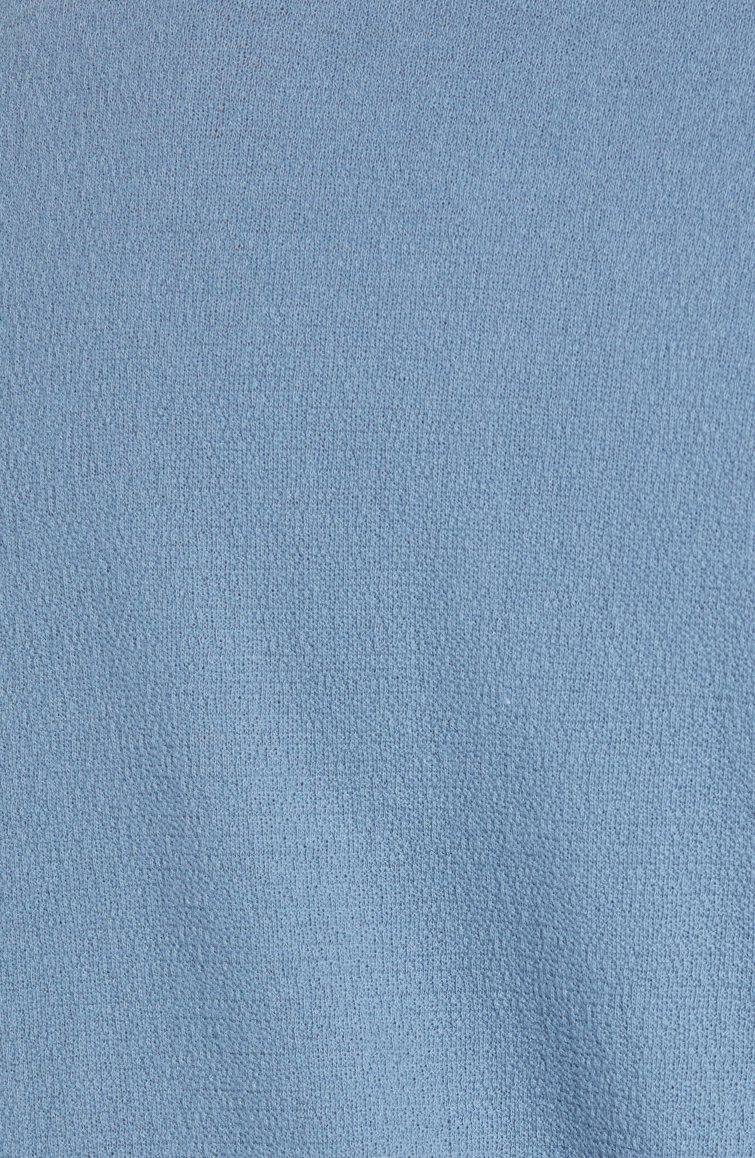 Long Sleeve Crepe Henley,                             Alternate thumbnail 5, color,                             420