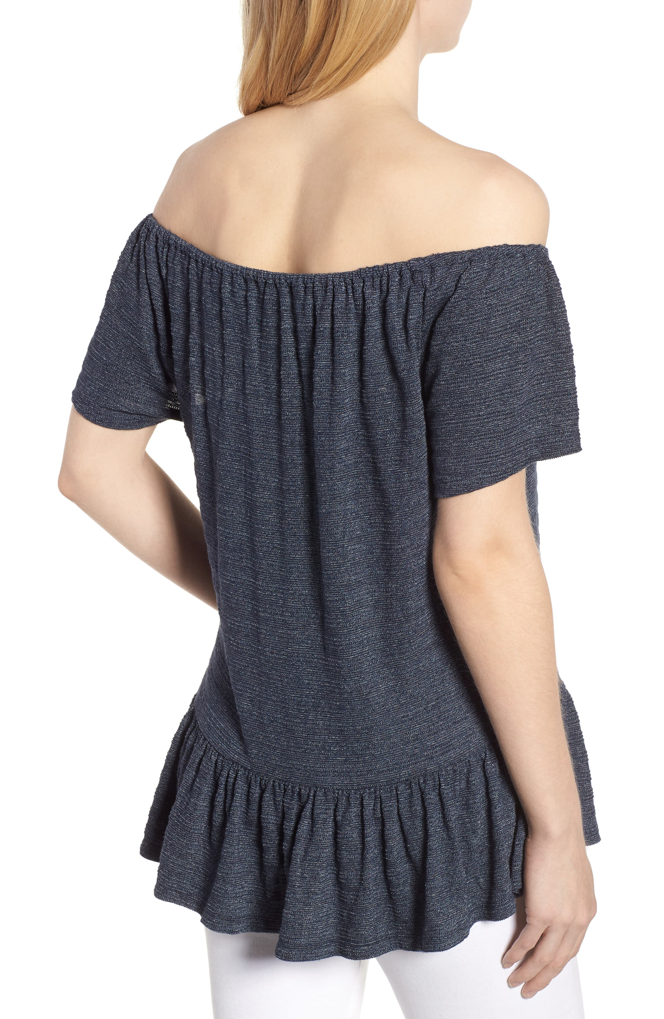 Off The Shoulder Top,                             Alternate thumbnail 2, color,                             400