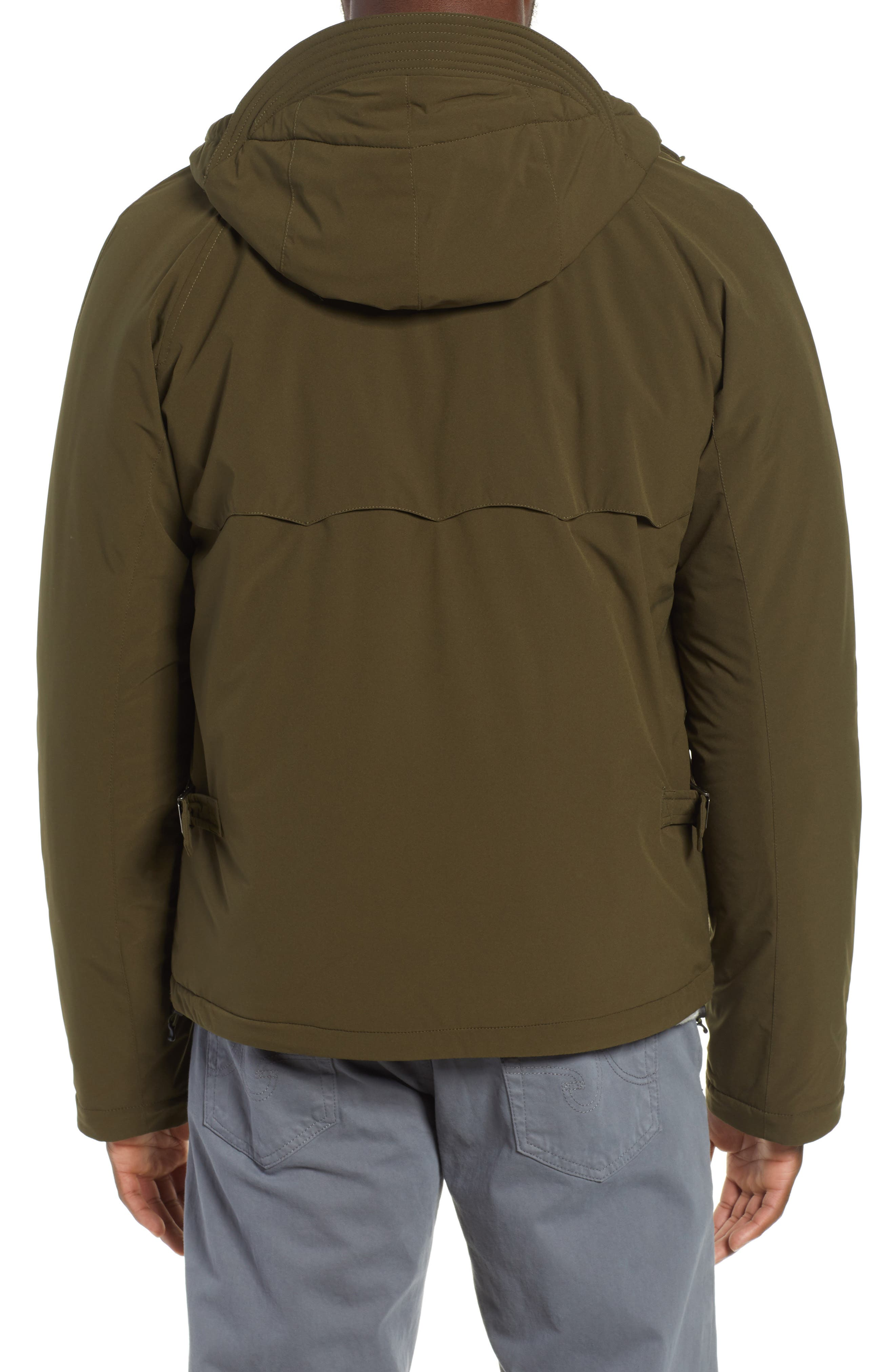 Hardy Stretch Water Repellent Anorak,                             Alternate thumbnail 2, color,                             BEECH