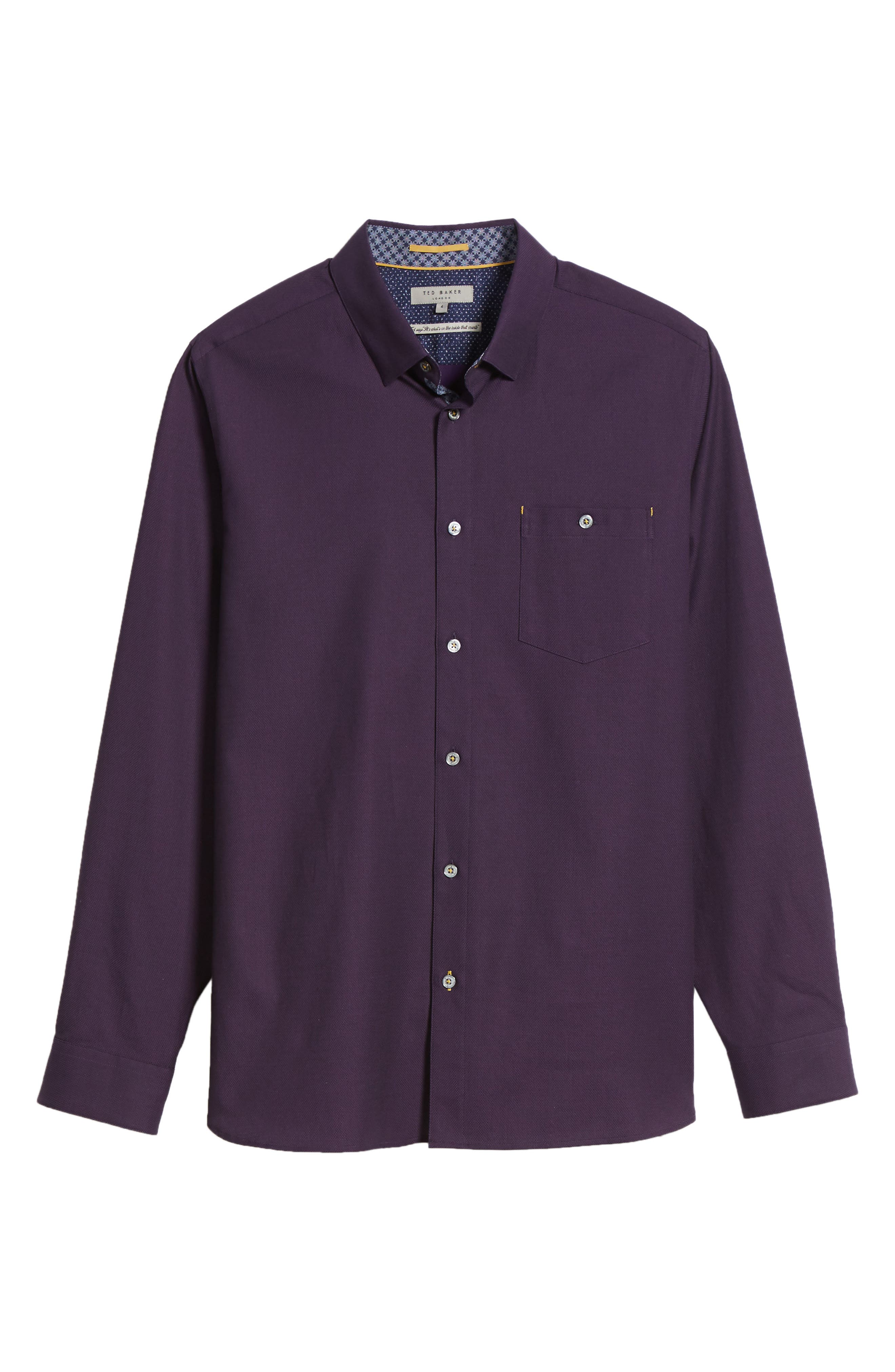 Nordlux Modern Slim Fit Stretch Cotton Sport Shirt,                             Alternate thumbnail 30, color,
