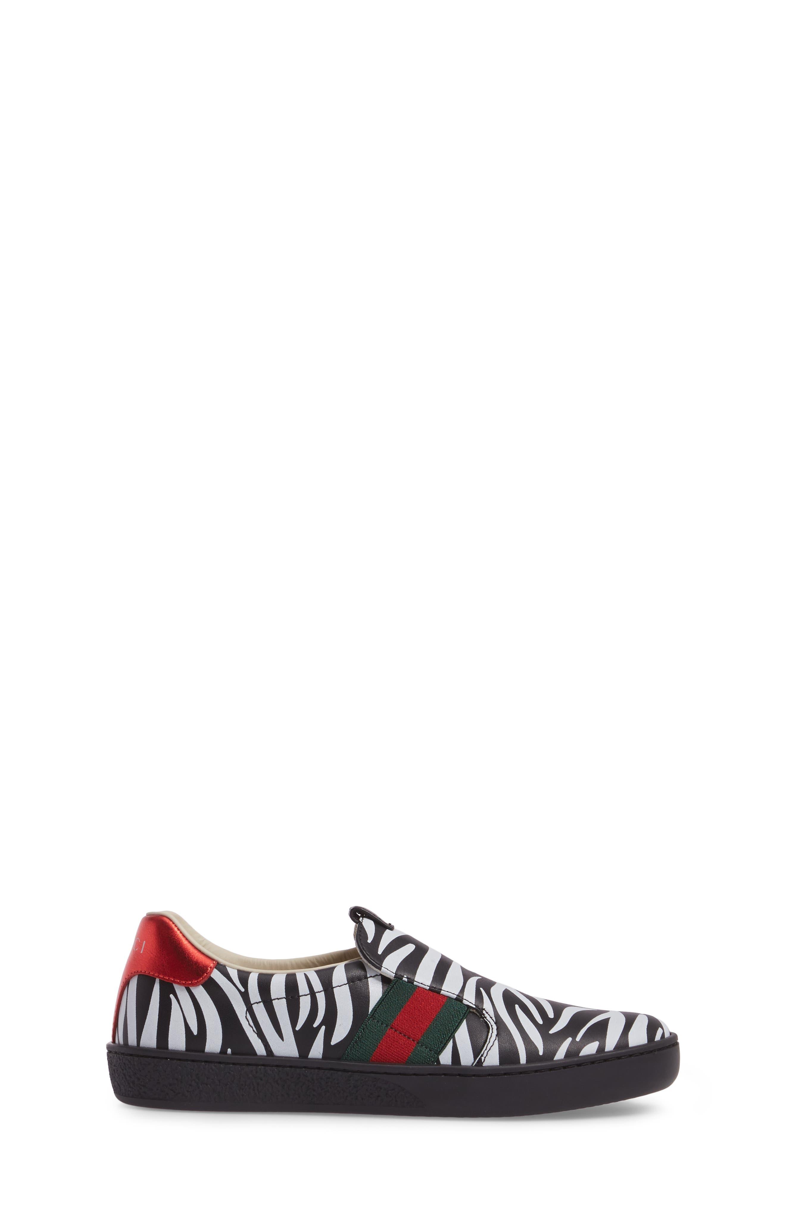 New Ace Print Slip-On Sneaker,                             Alternate thumbnail 3, color,