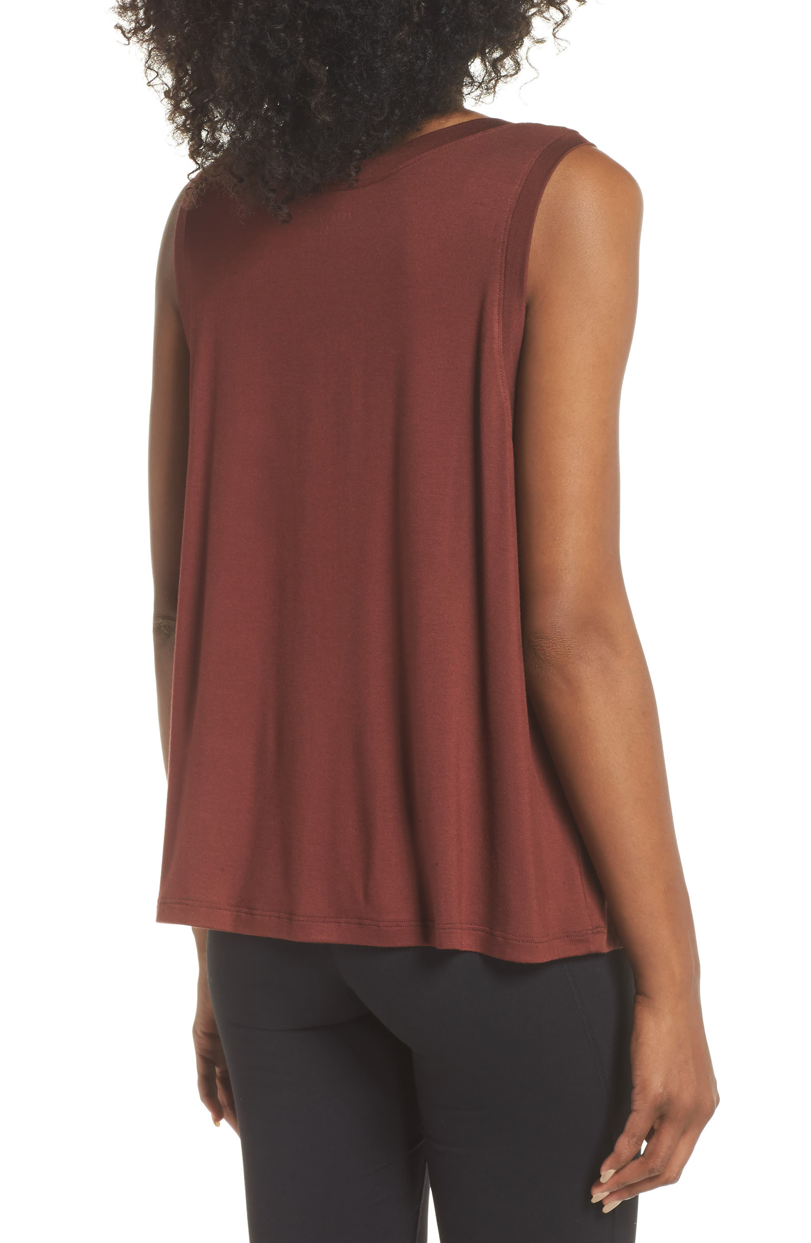 Balance Muscle Tank,                             Alternate thumbnail 2, color,                             RED ROCK