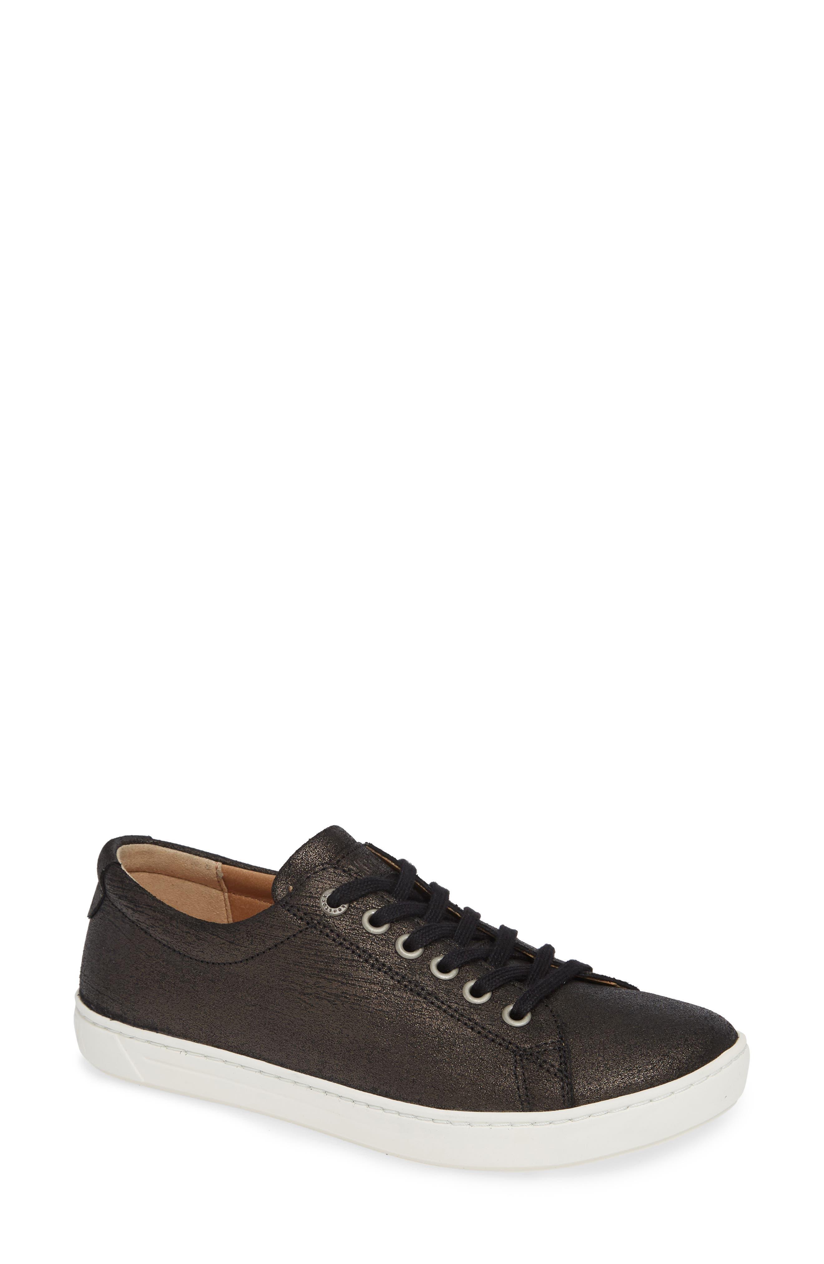 Arran Sneaker,                         Main,                         color, METALLIC BLACK
