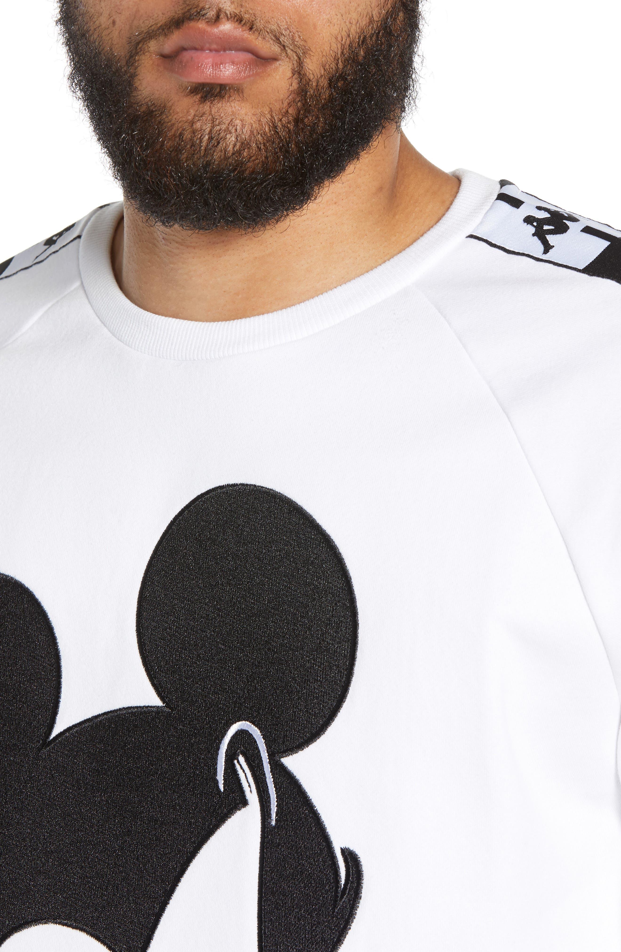 KAPPA,                             x Disney<sup>®</sup> Authentic Audley Sweatshirt,                             Alternate thumbnail 4, color,                             100