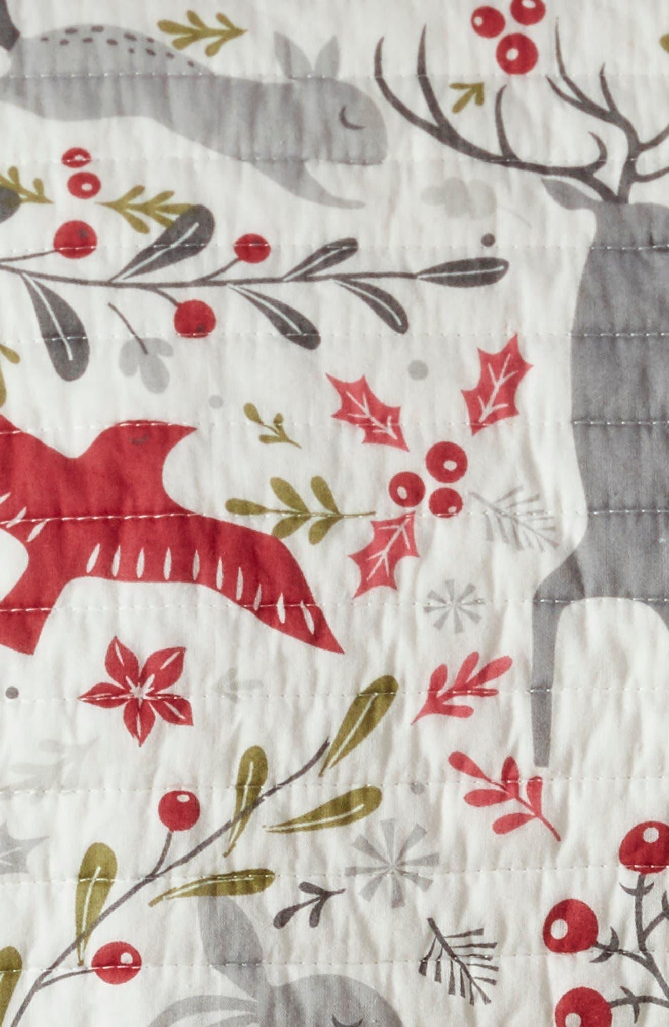 Santa's Village Quilt,                             Alternate thumbnail 3, color,                             WHITE MULTI