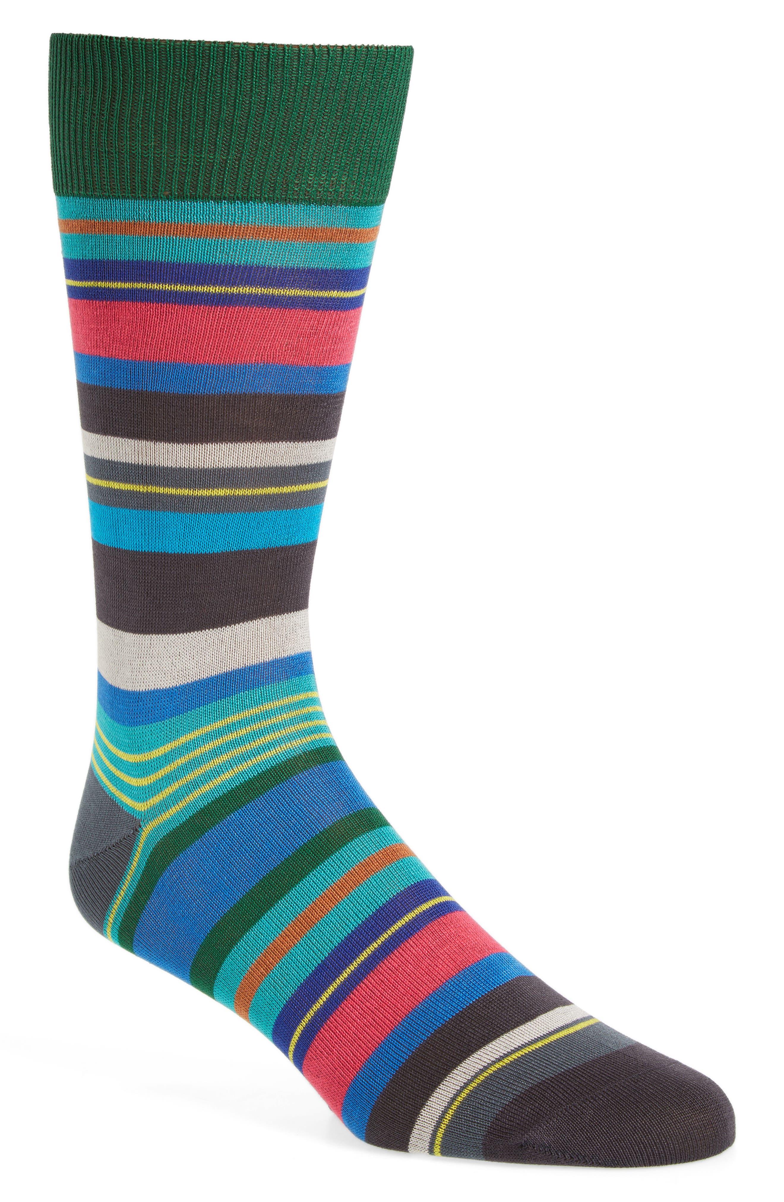 Halentoe Stripe Socks,                         Main,                         color, 001