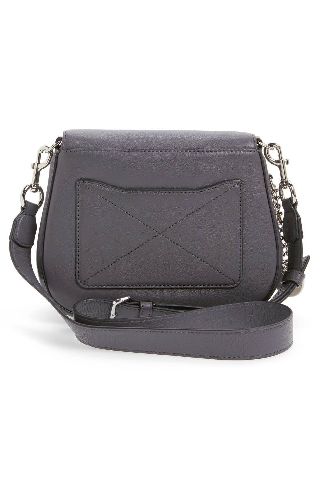 Small Recruit Nomad Pebbled Leather Crossbody Bag,                             Alternate thumbnail 60, color,