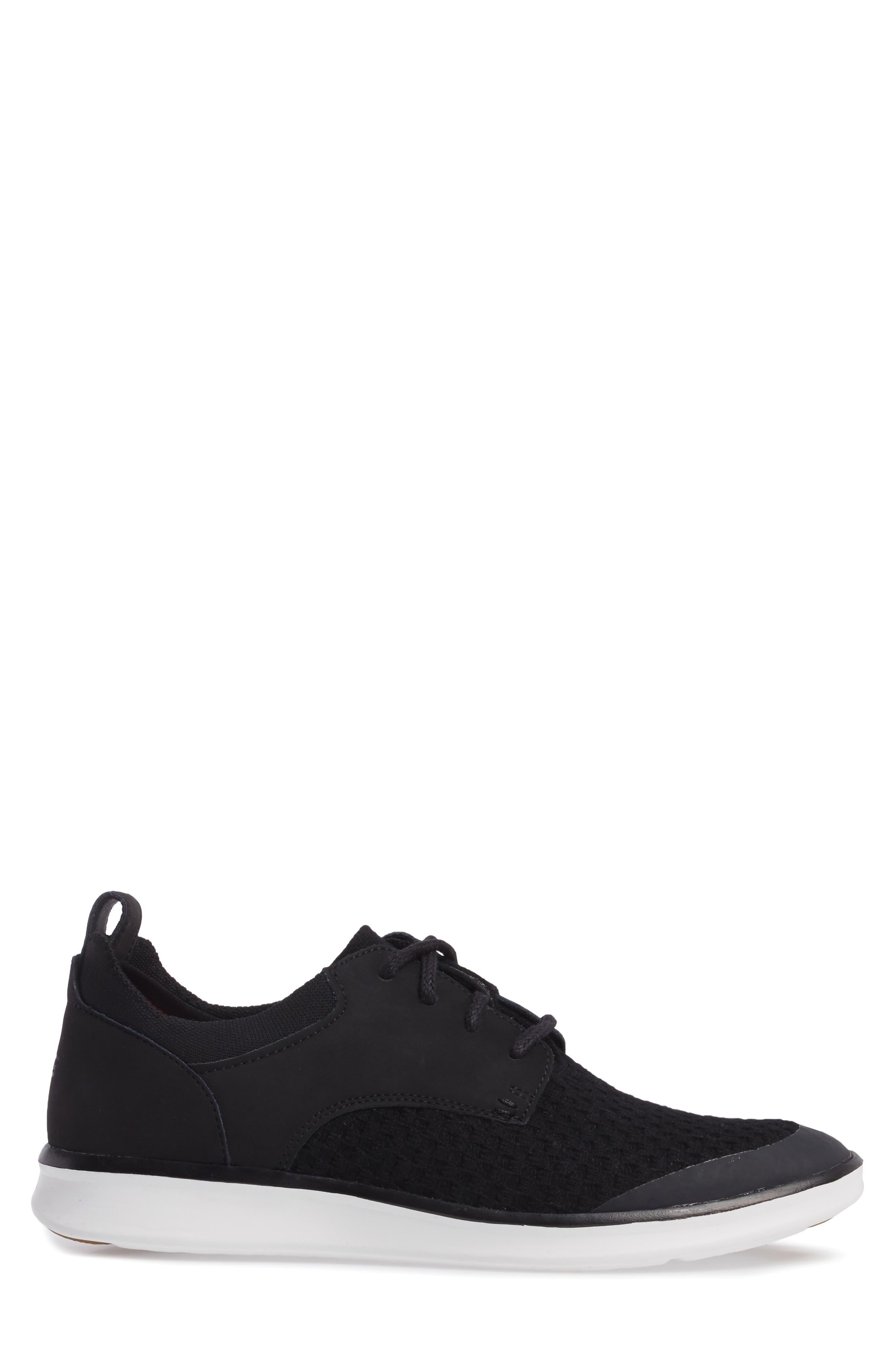 Hepner HyperWeave Sneaker,                             Alternate thumbnail 3, color,                             001