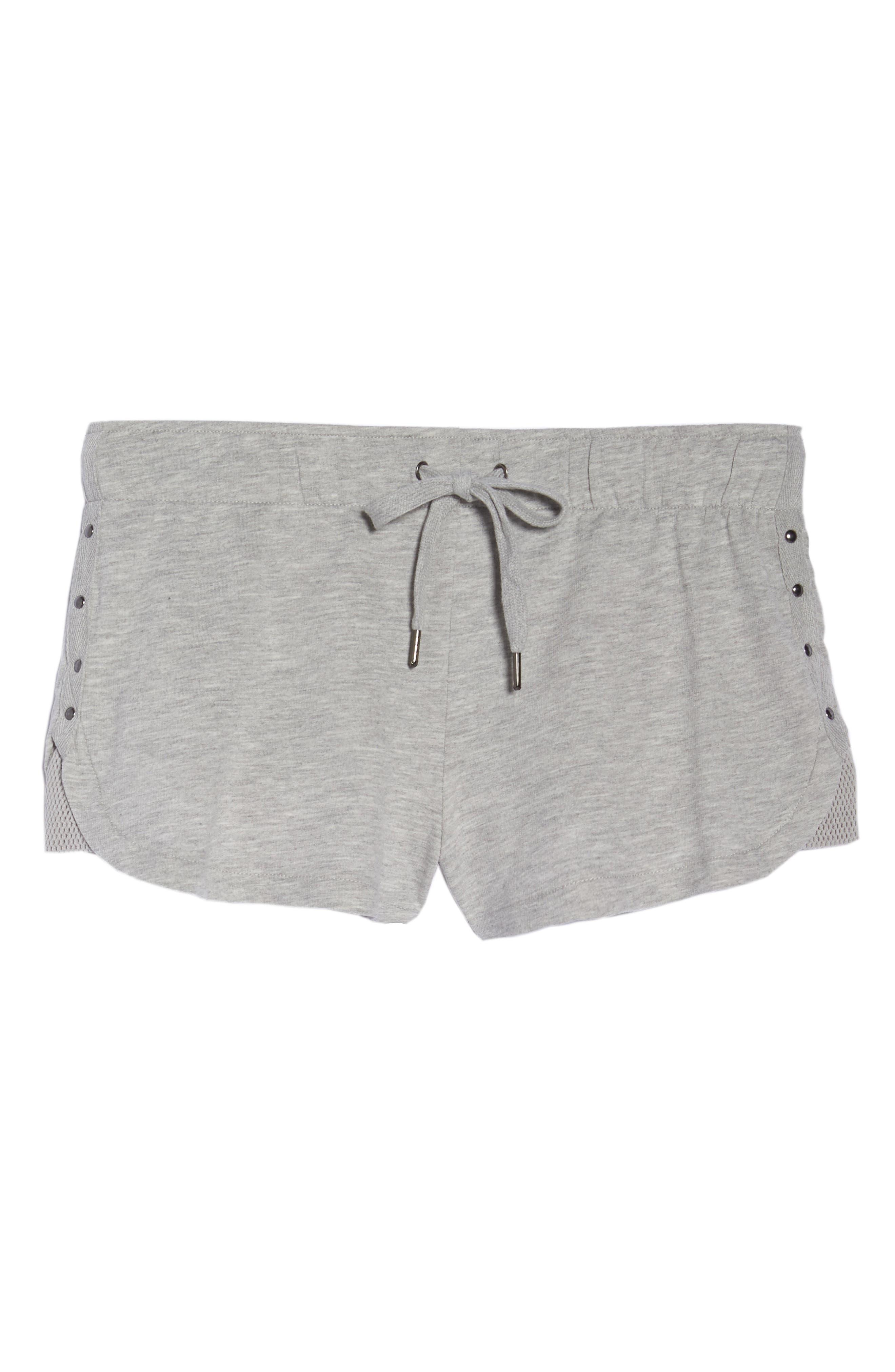 Pajama Shorts,                             Alternate thumbnail 6, color,                             020