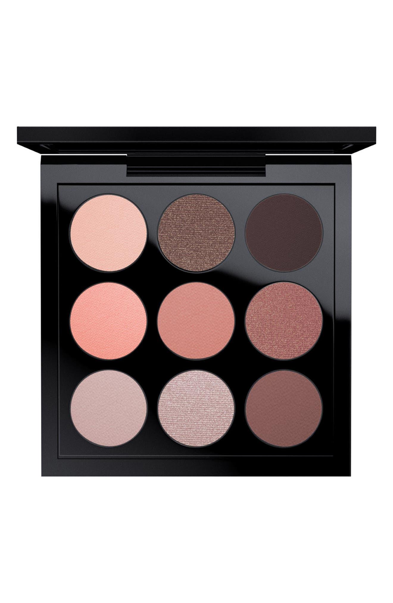 MAC eyeshadow palette dusty rose makeup