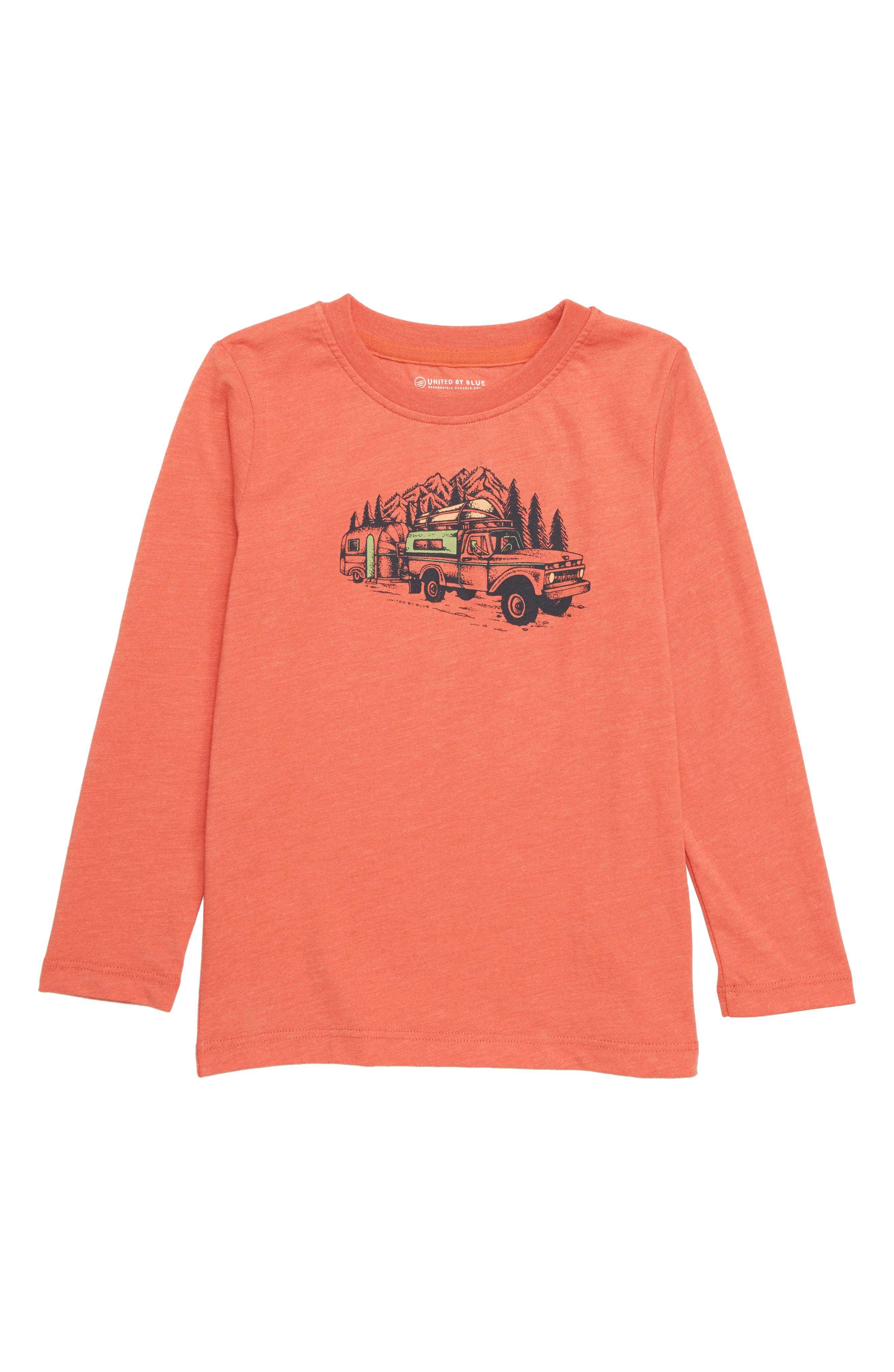 Truck 'n' Camper T-Shirt,                             Main thumbnail 1, color,                             800