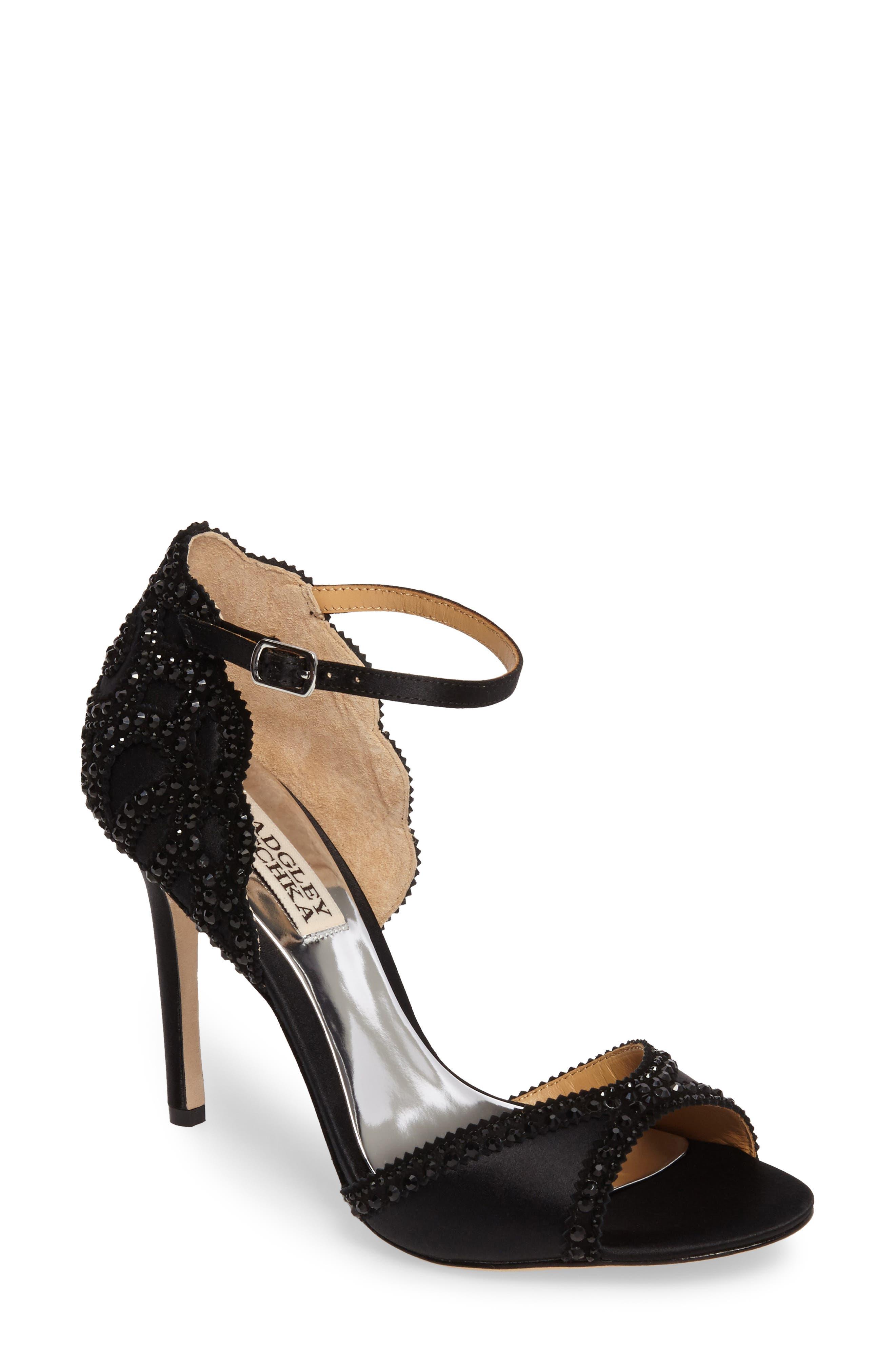 'Roxy' Sandal,                         Main,                         color, 001