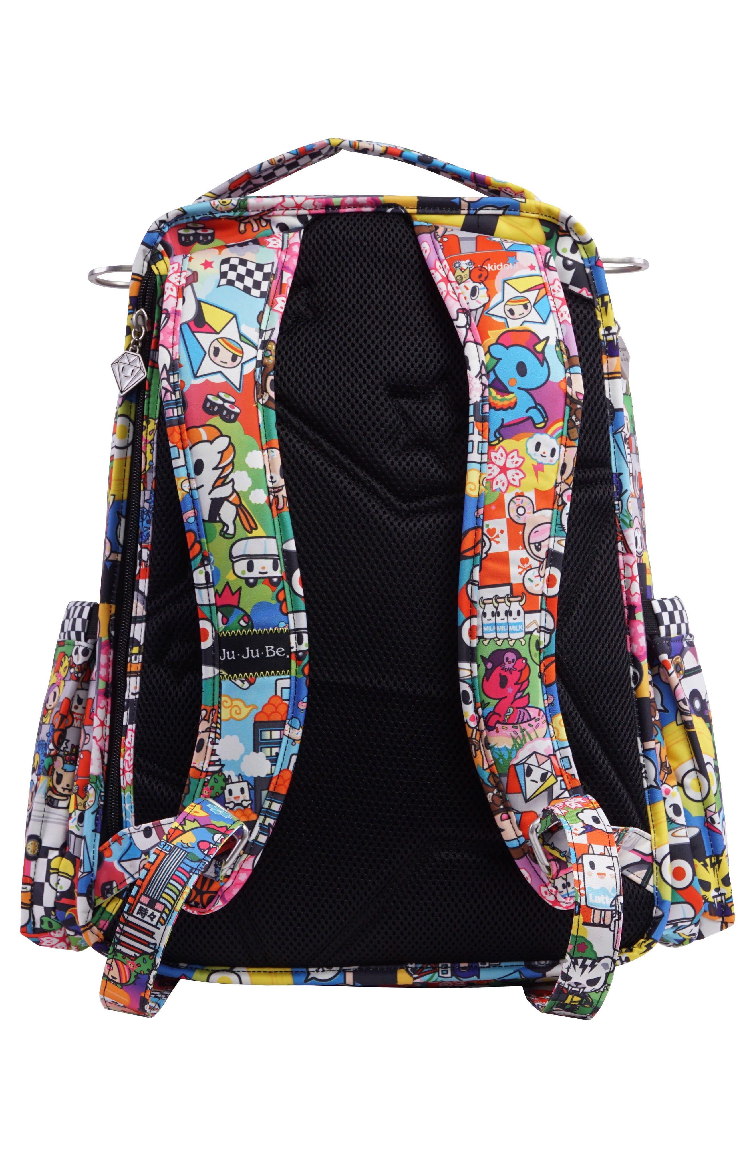 tokidoki x Ju-Ju-Be 'Be Right Back' Diaper Backpack,                             Alternate thumbnail 2, color,                             SUSHI CARS