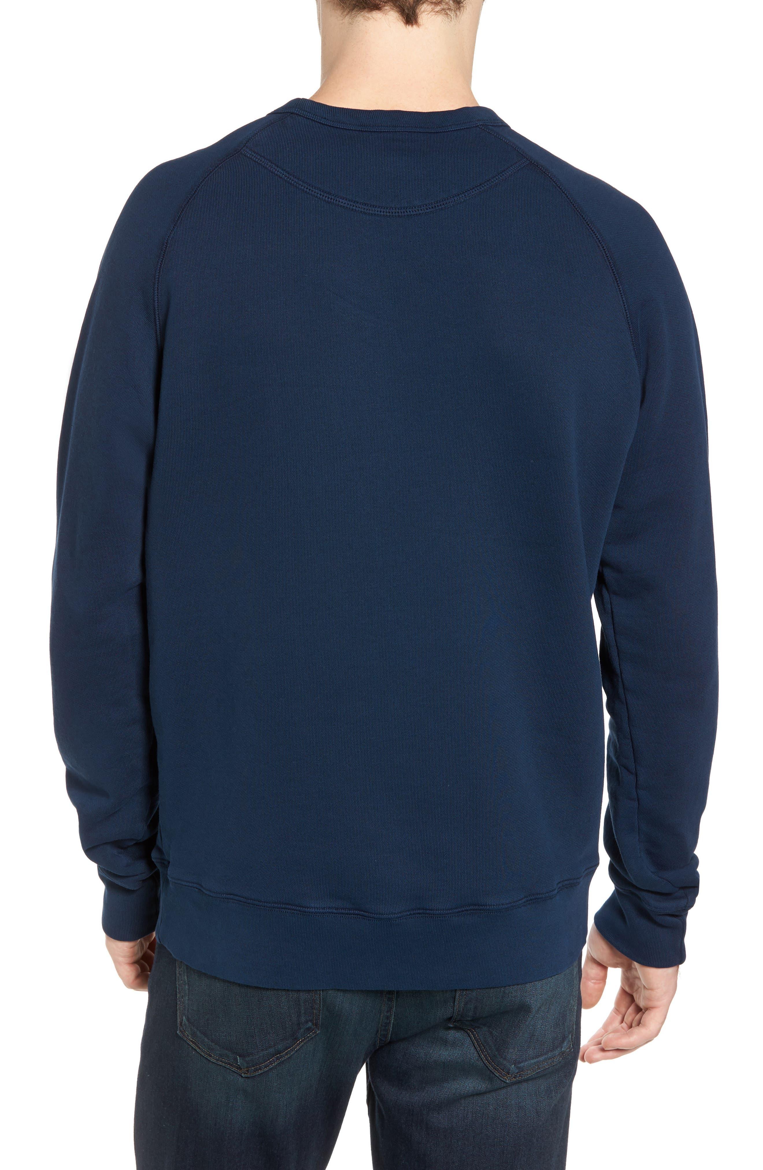 South Sea Raglan Sweatshirt,                             Alternate thumbnail 5, color,