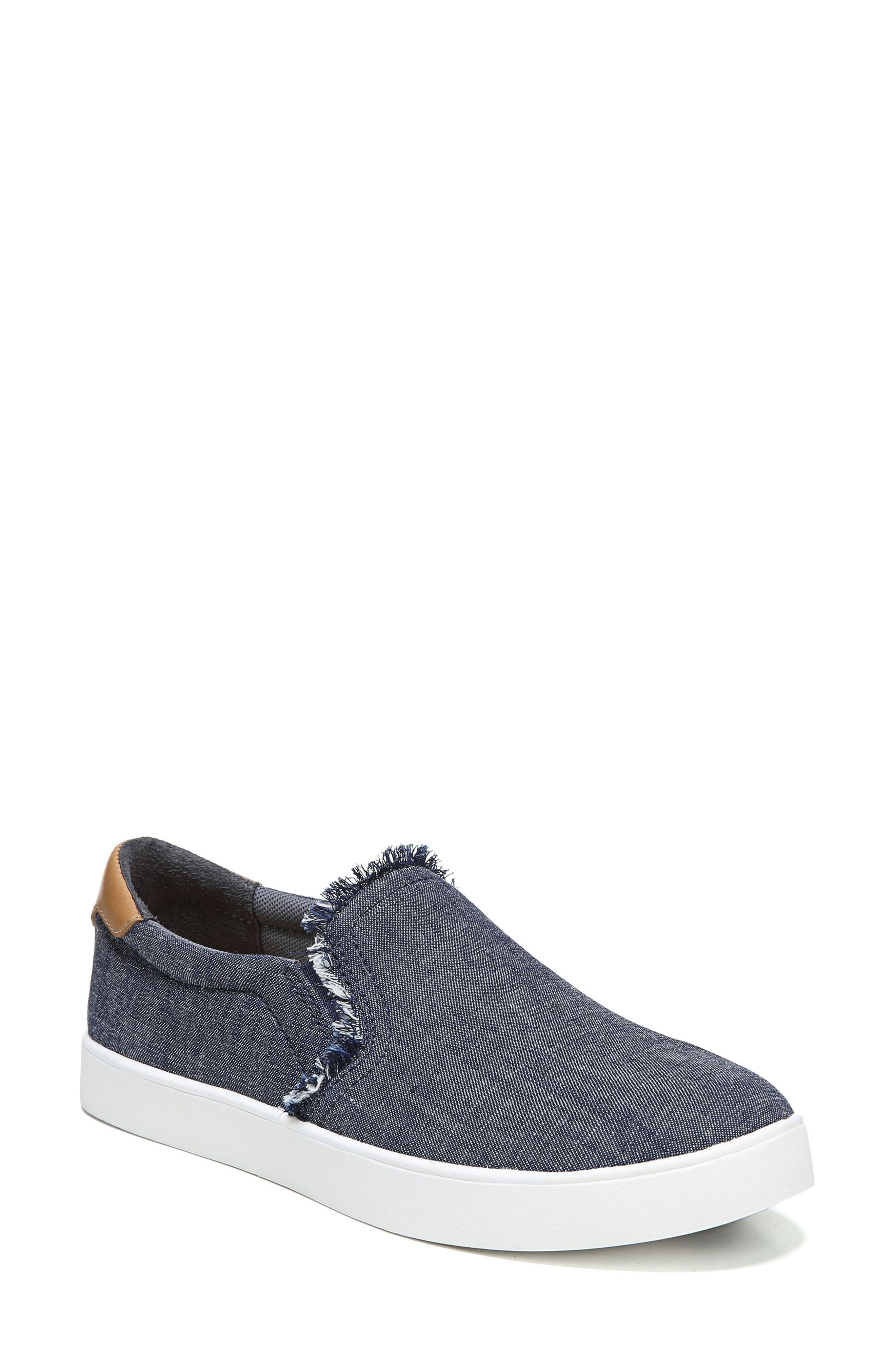Scout Fray Slip-on Sneaker,                         Main,                         color, 400