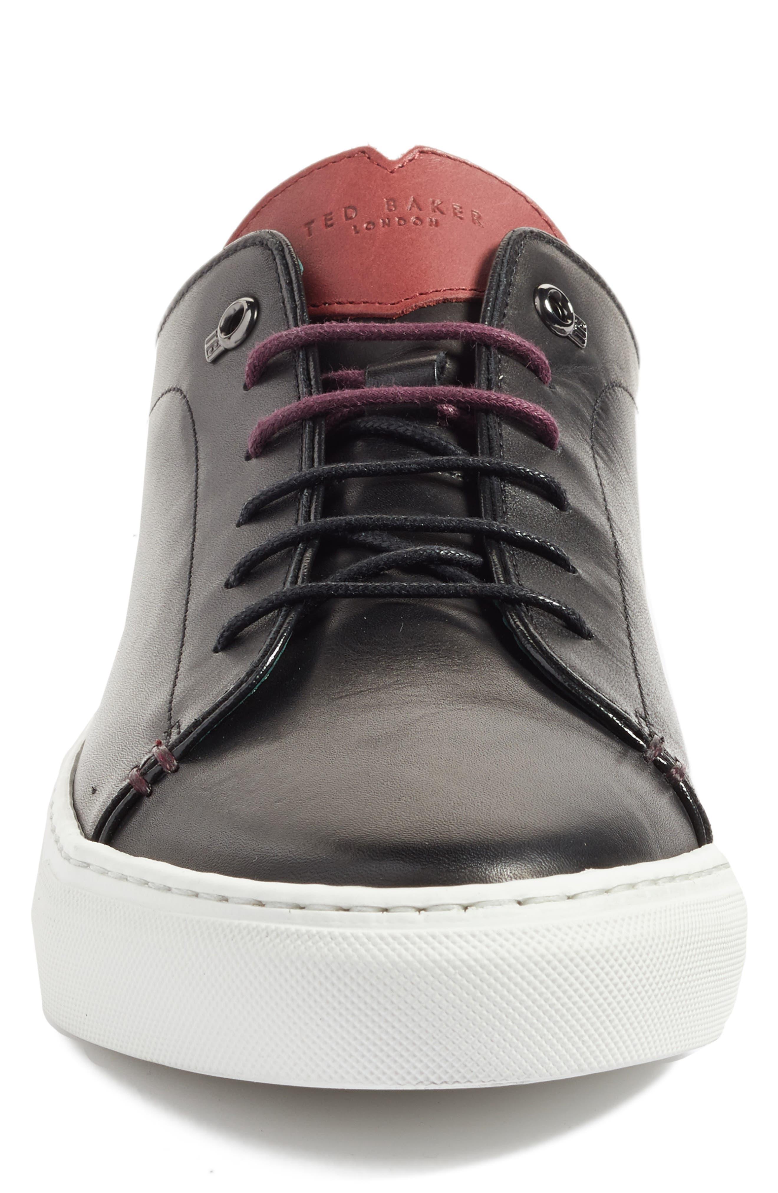 'Kiing Classic' Sneaker,                             Alternate thumbnail 3, color,                             001