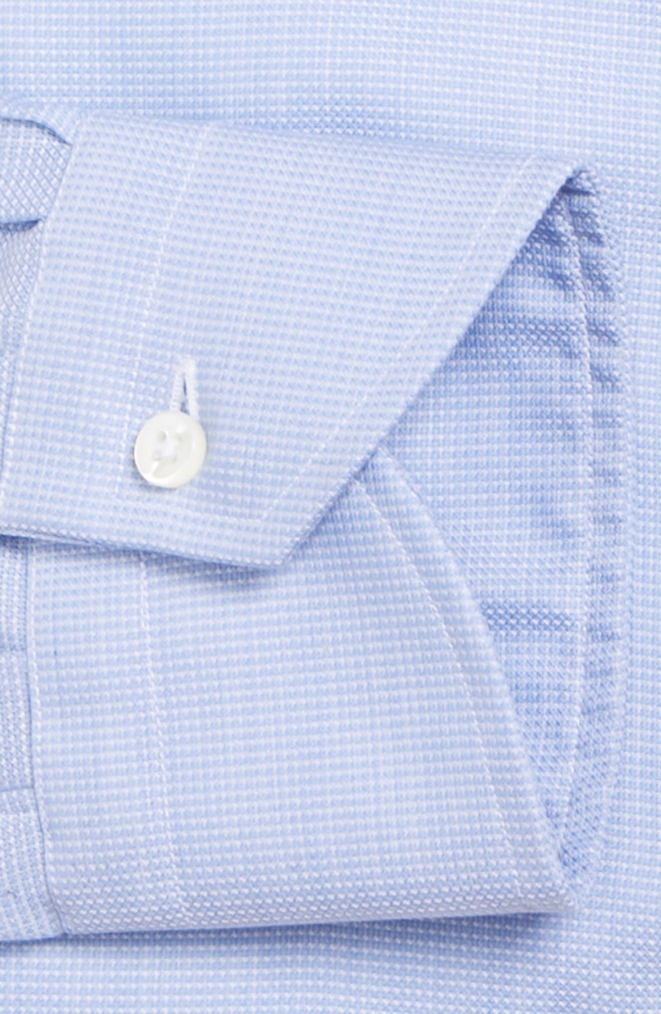 Regular Fit Solid Dress Shirt,                             Alternate thumbnail 6, color,