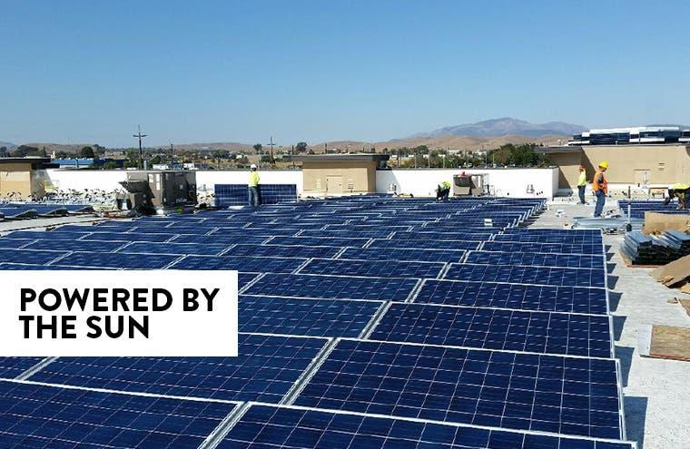Looking bright: Nordstrom Rack gets renewable energy.