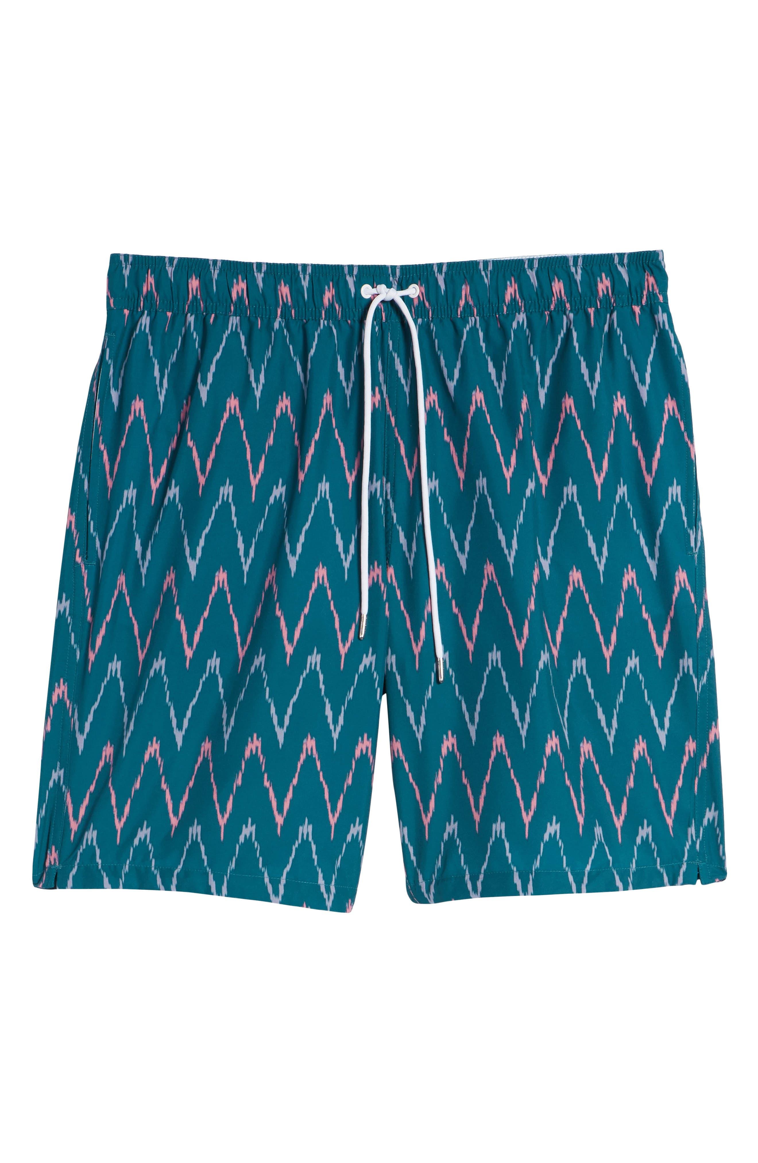 Banzai 9-Inch Swim Trunks,                             Alternate thumbnail 6, color,                             400