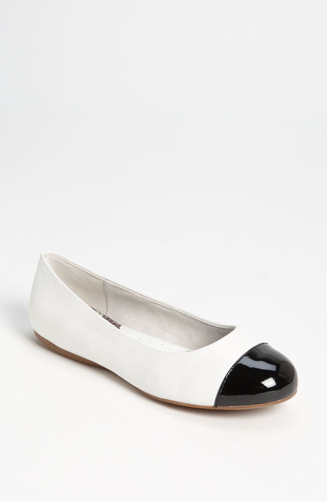 'Napa' Flat,                         Main,                         color, WHITE/ BLACK