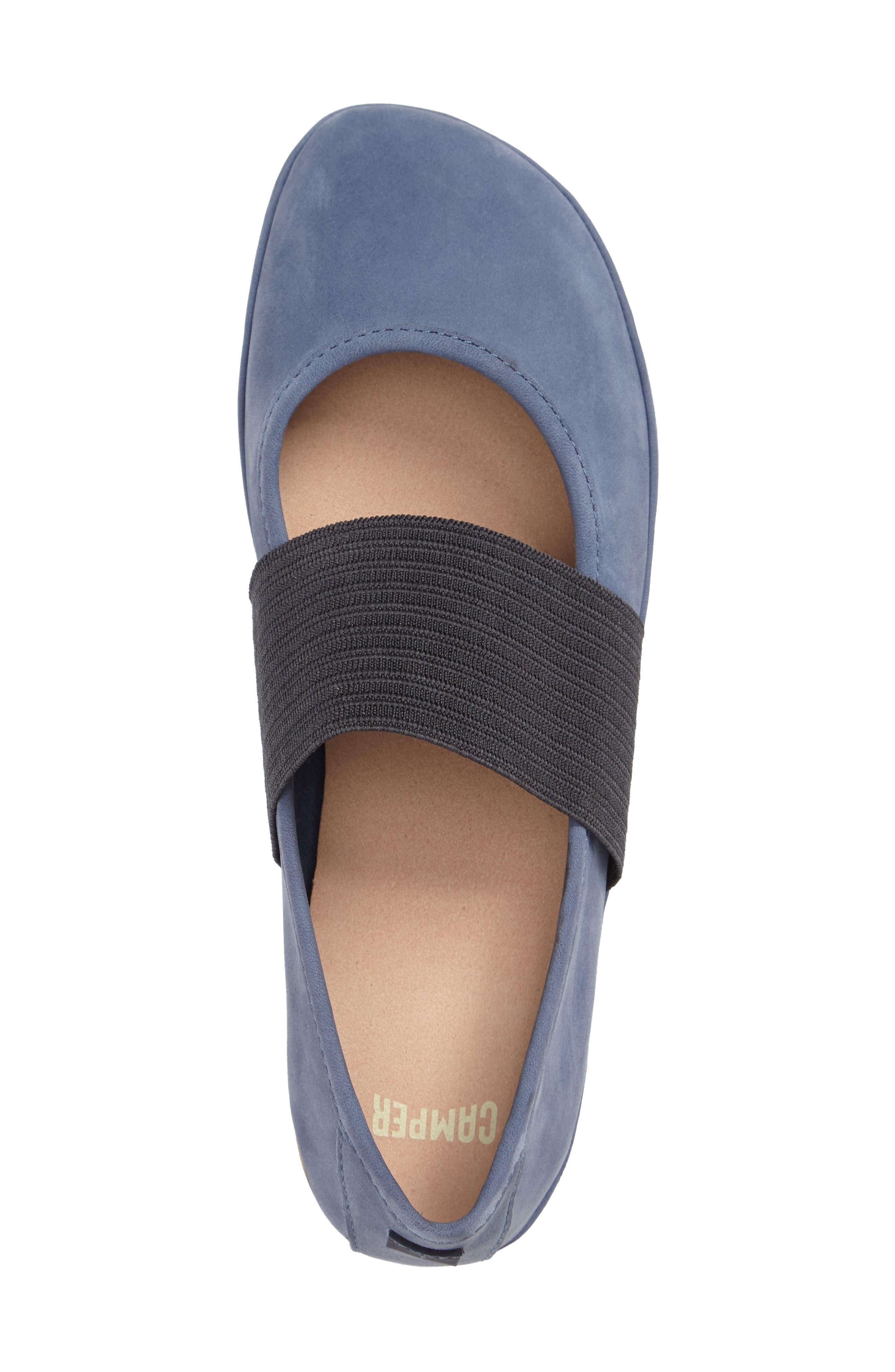 'Right Nina' Leather Ballerina Flat,                             Alternate thumbnail 65, color,