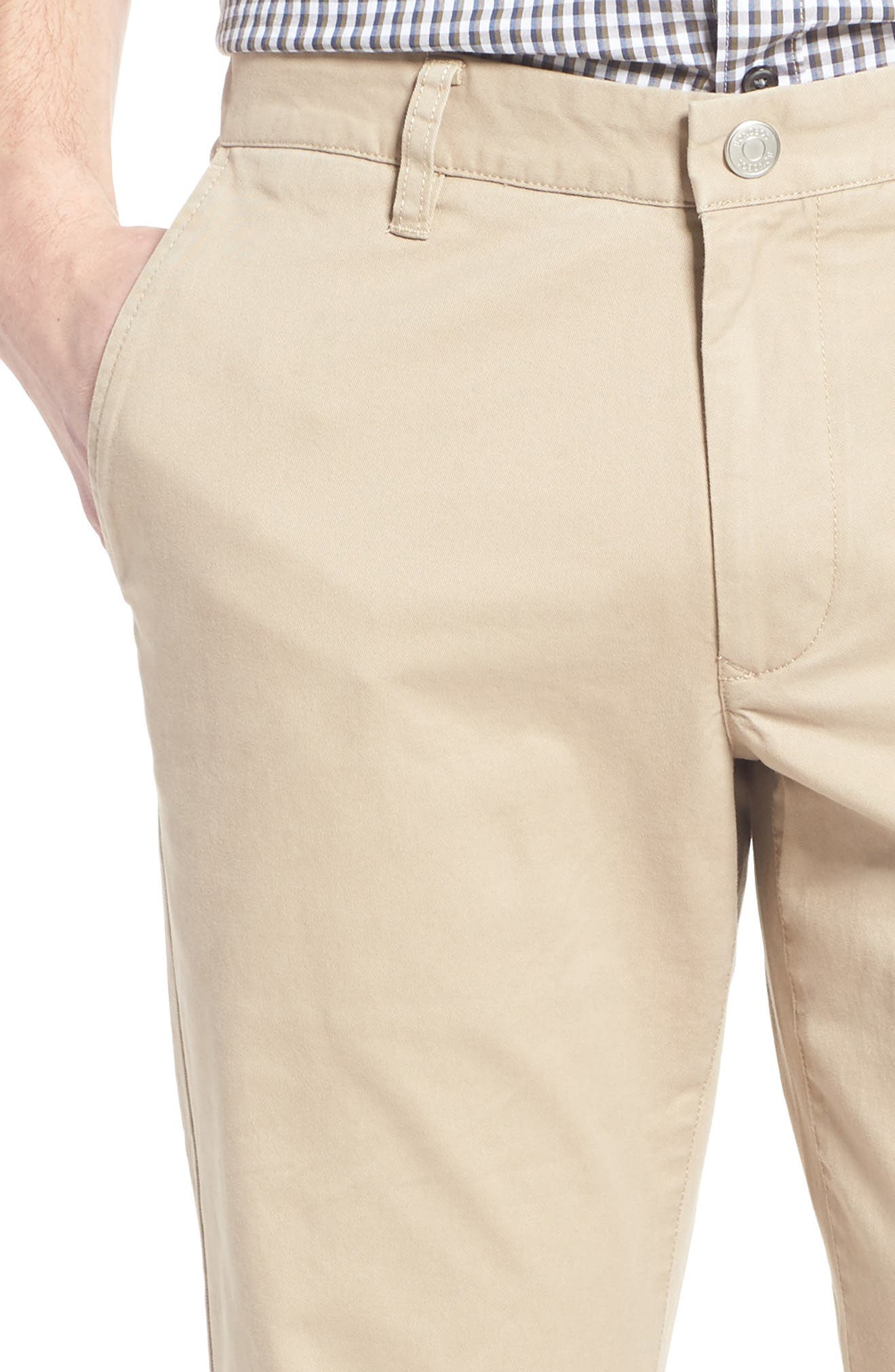 Straight Leg Stretch Washed Chinos,                             Alternate thumbnail 70, color,