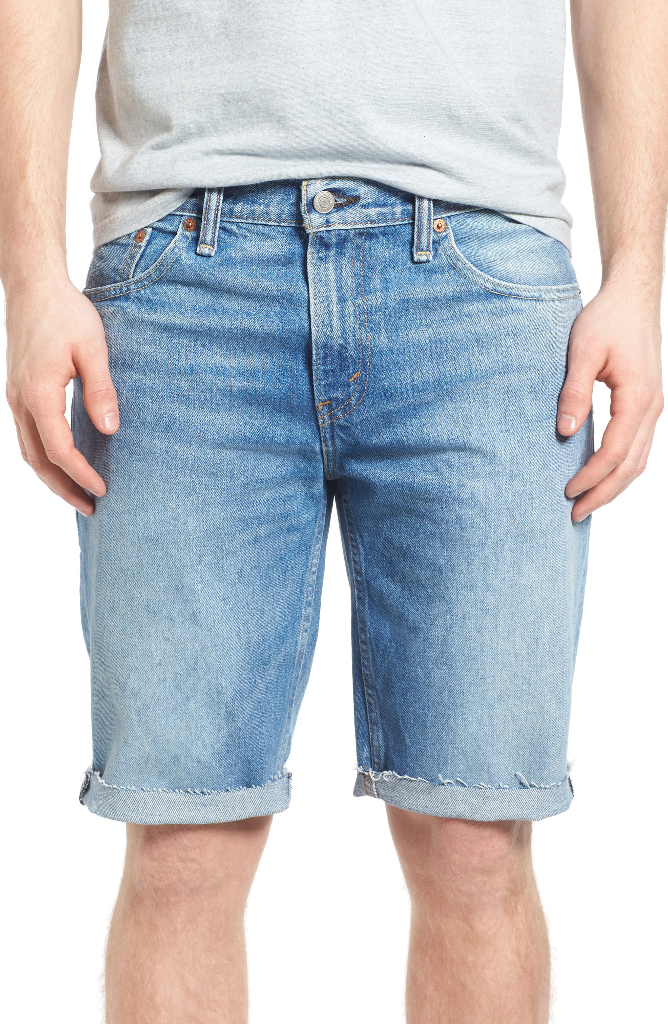511<sup>™</sup> Cutoff Denim Shorts,                         Main,                         color, 420
