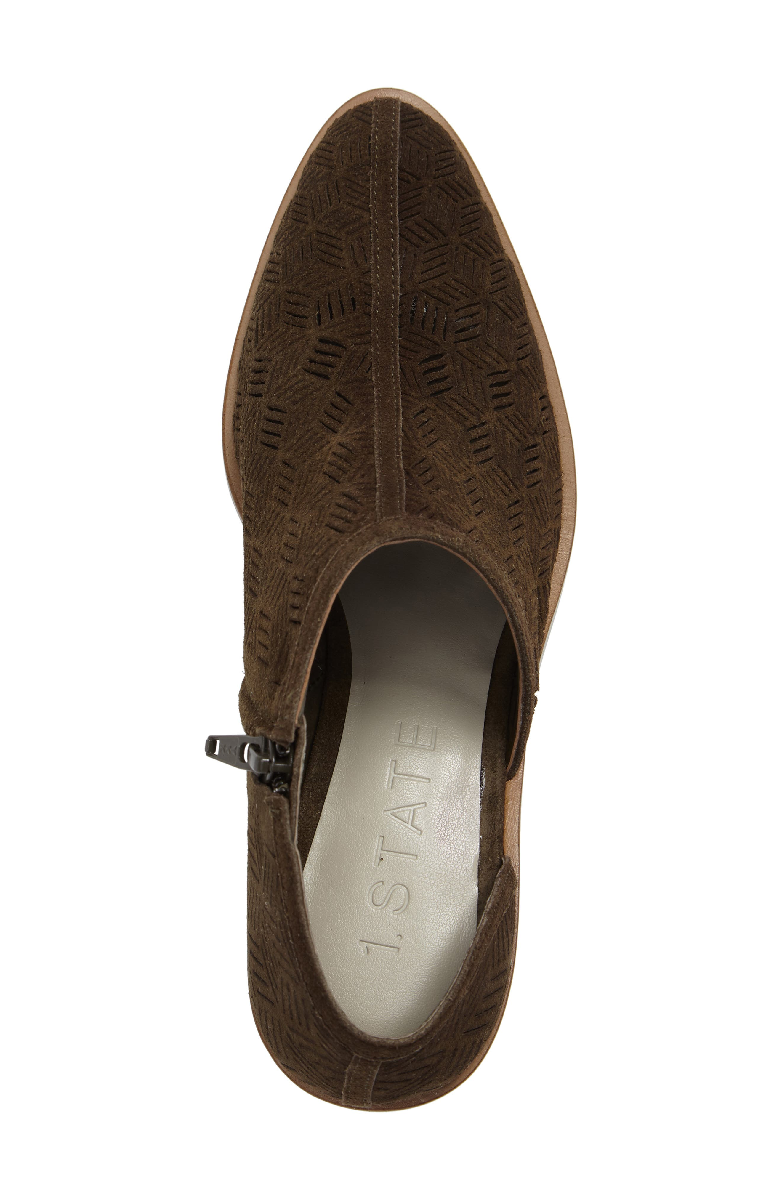 Iddah Perforated Cutaway Bootie,                             Alternate thumbnail 29, color,