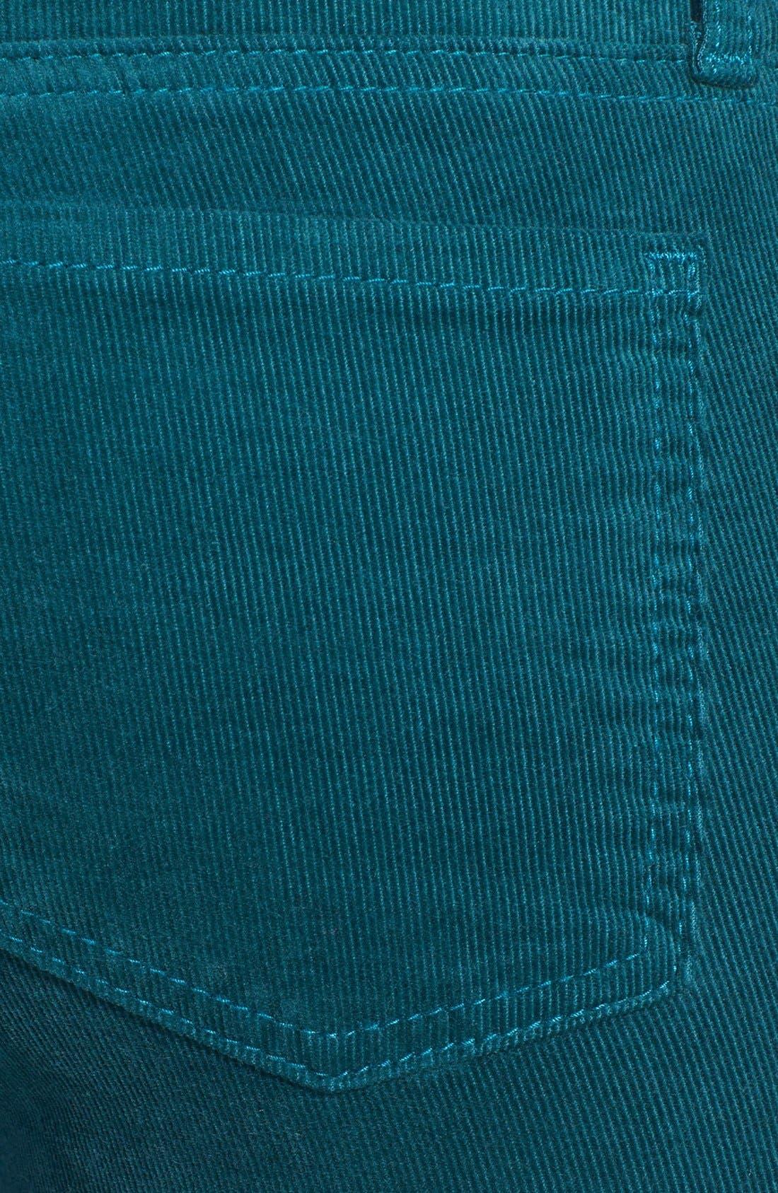 'Diana' Stretch Corduroy Skinny Pants,                             Alternate thumbnail 186, color,