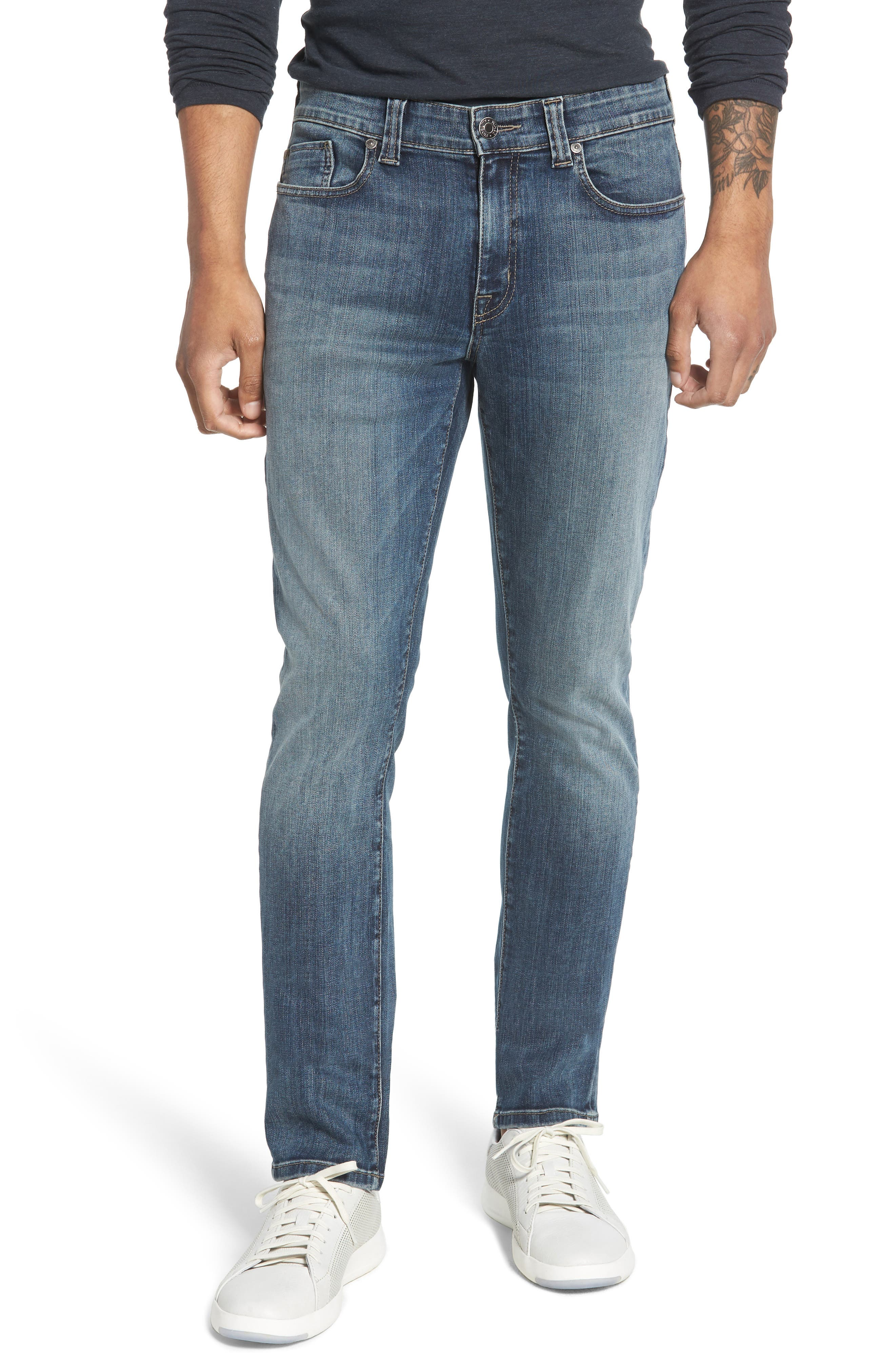 Jimmy Slim Straight Leg Jeans,                             Main thumbnail 1, color,                             CATHEDRAL