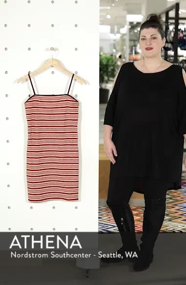 Stripe Body-Con Minidress, sales video thumbnail