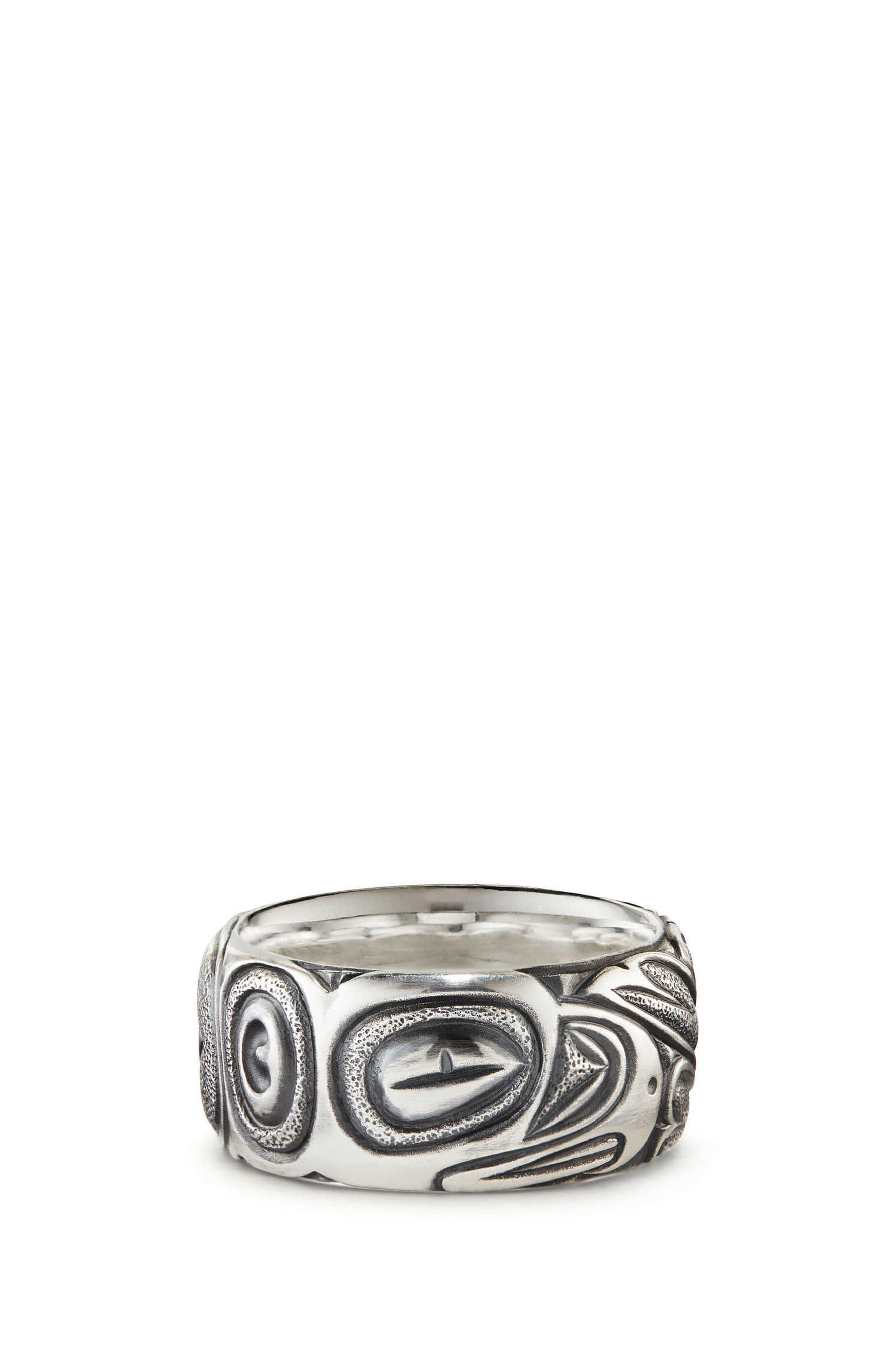 Northwest Wide Band Ring,                             Main thumbnail 1, color,                             SILVER